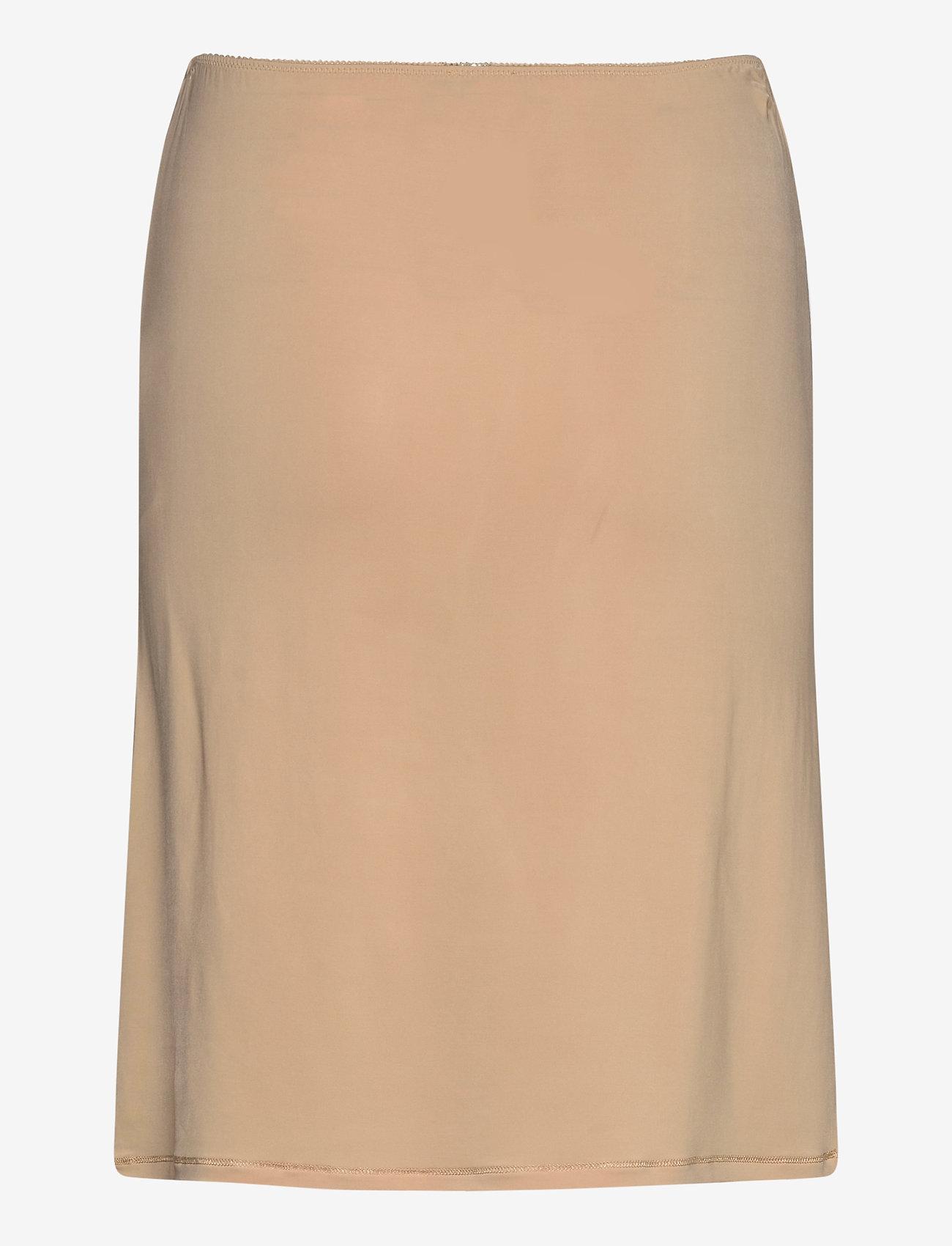 Ganni - Slip Skirt - bodies & slips - tannin - 1