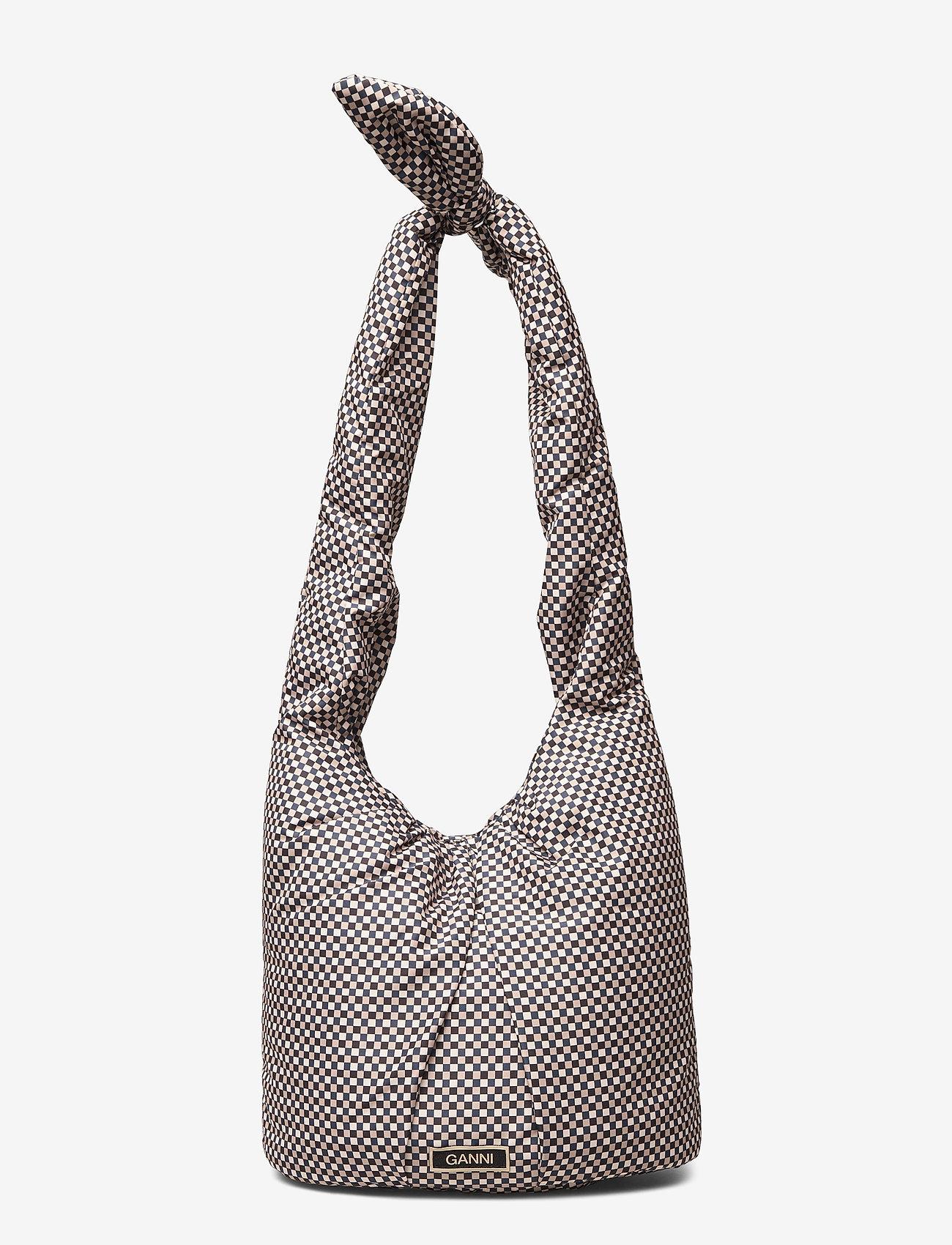 Ganni - Tote Bag - shoulder bags - tannin - 0
