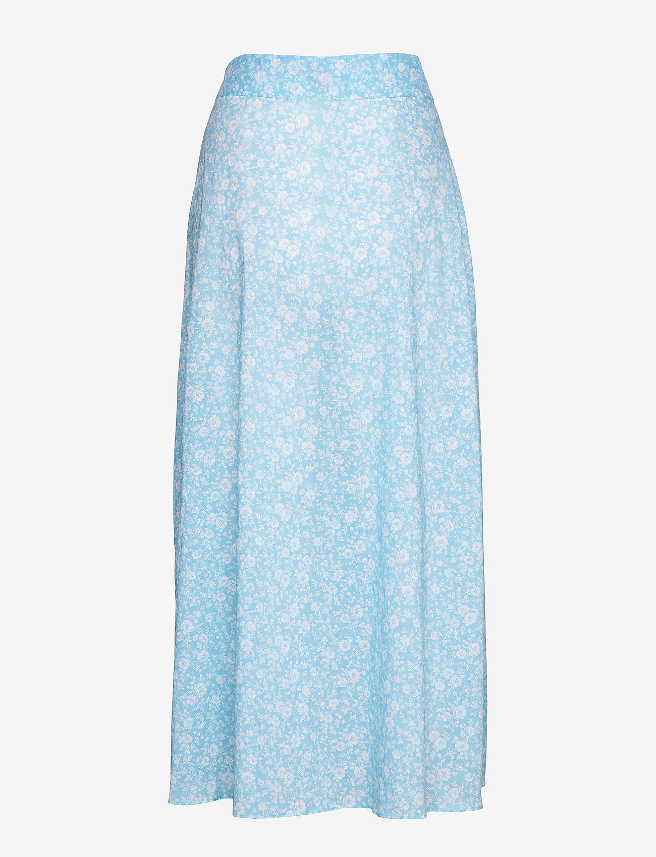 Ganni - Skirt - strandtøj - alaskan blue - 1