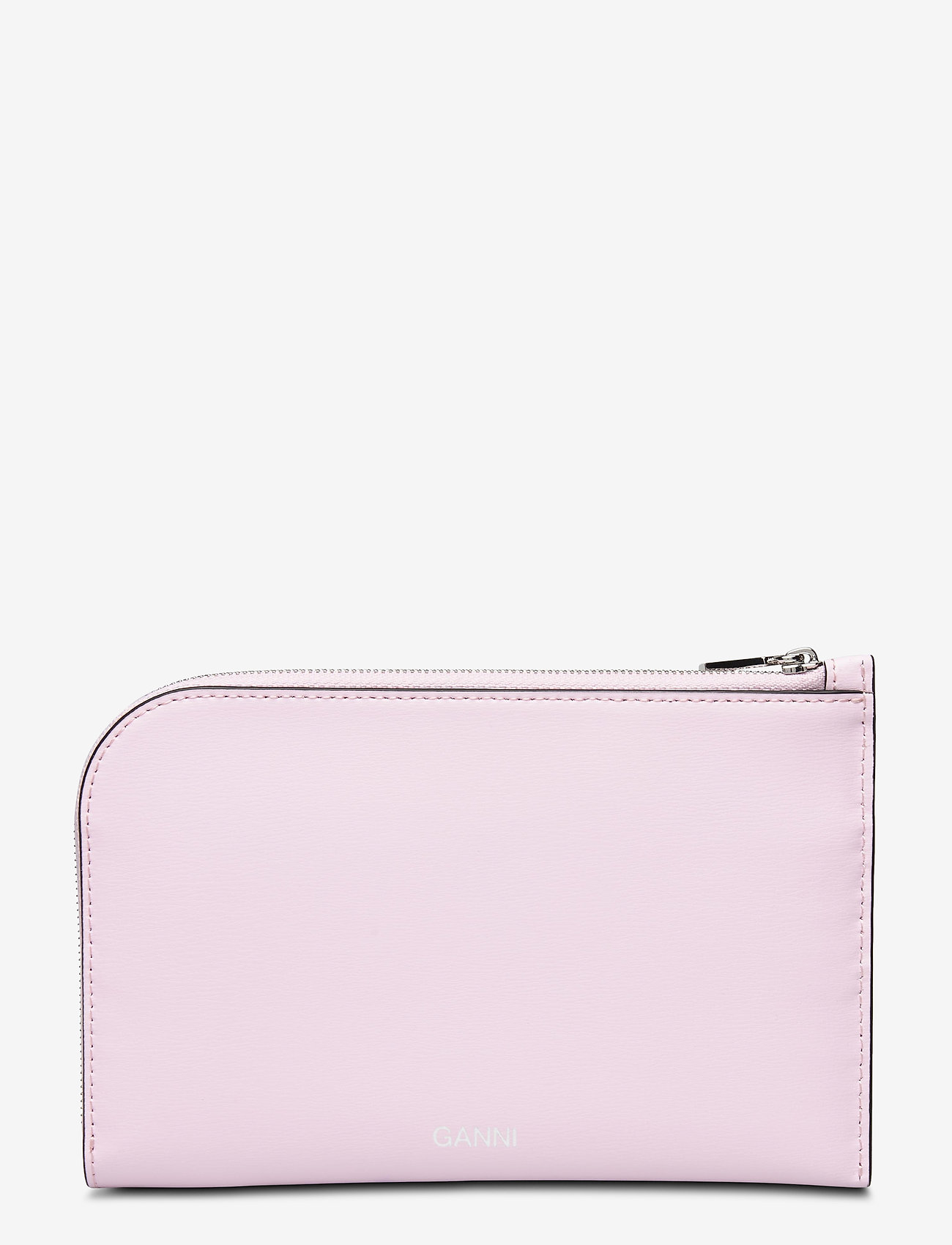 Ganni - Leather - wallets - cherry blossom - 0