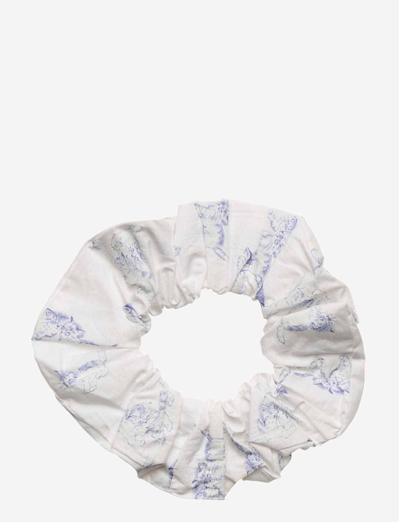 Ganni - Printed Cotton Poplin - accessories - bright white - 0