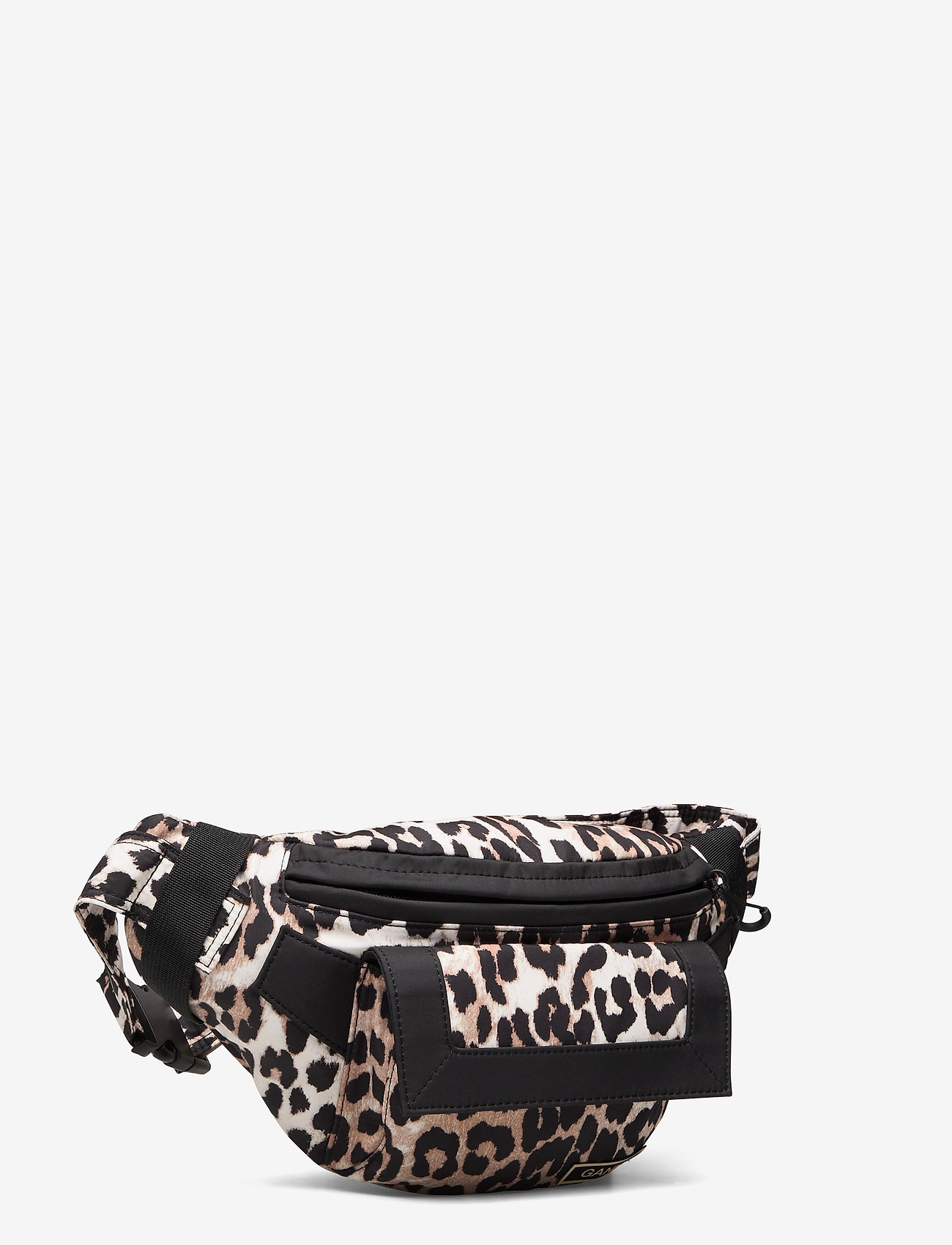Ganni - Recycled Tech Fabric Bags - belt bags - leopard - 2
