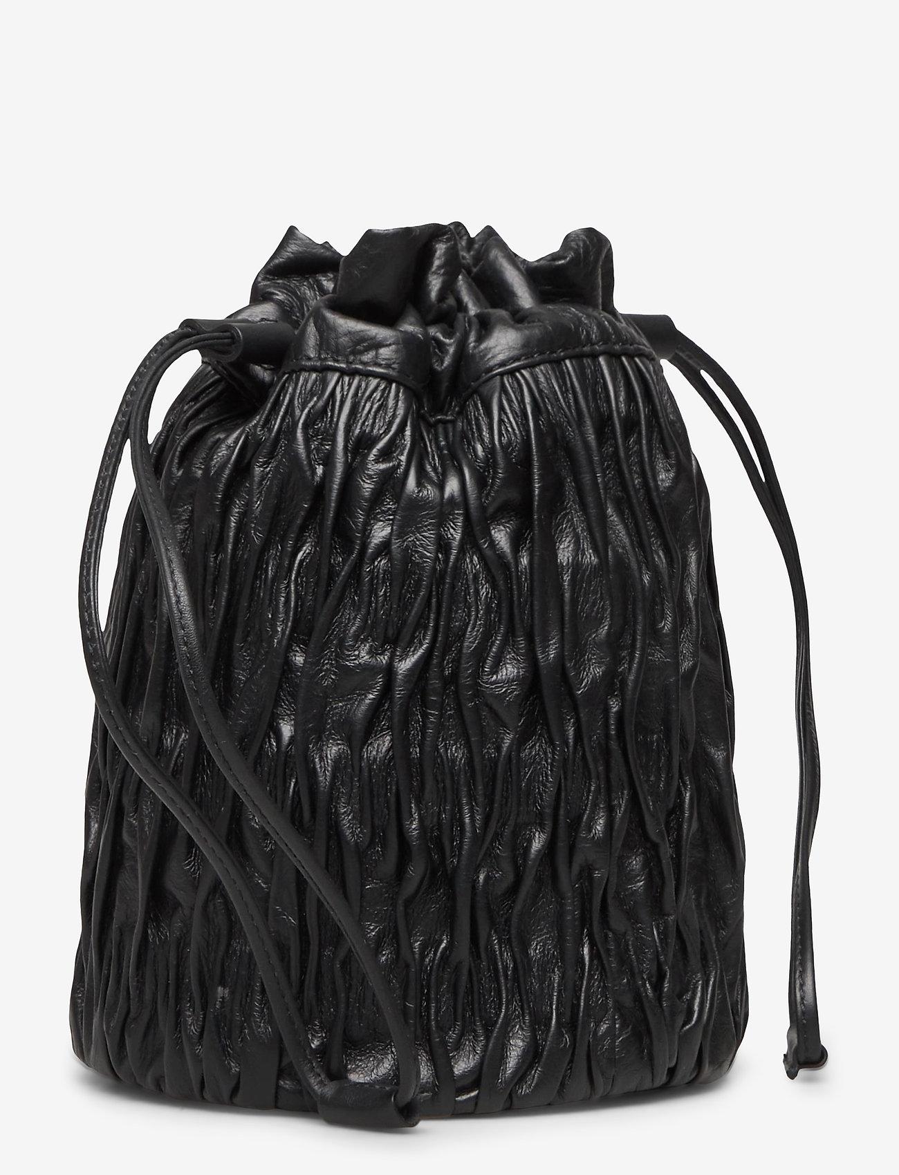 Ganni - Napa - bucket bags - black - 2