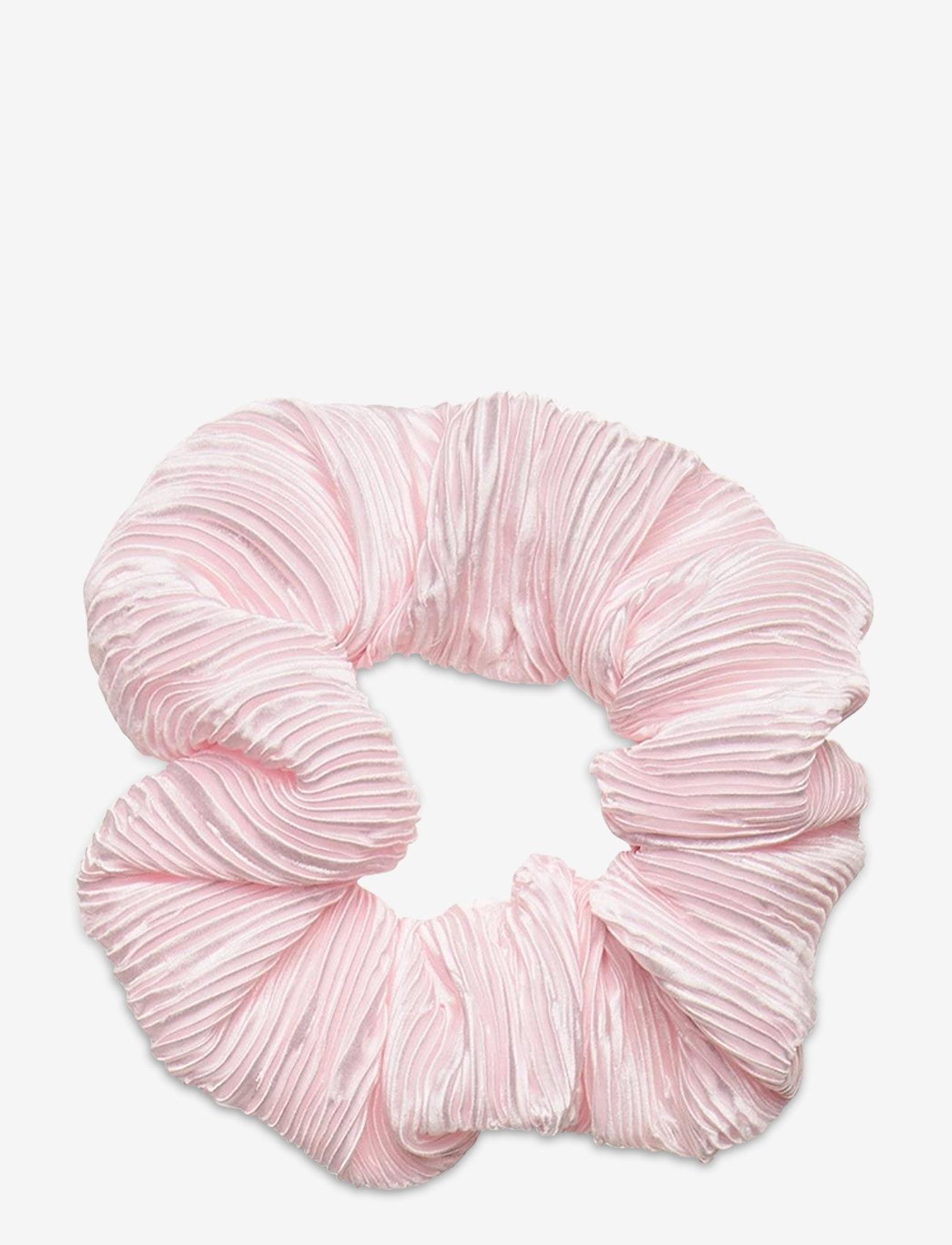 Ganni - Pleated Satin - haar accessoires - pale lilac - 0