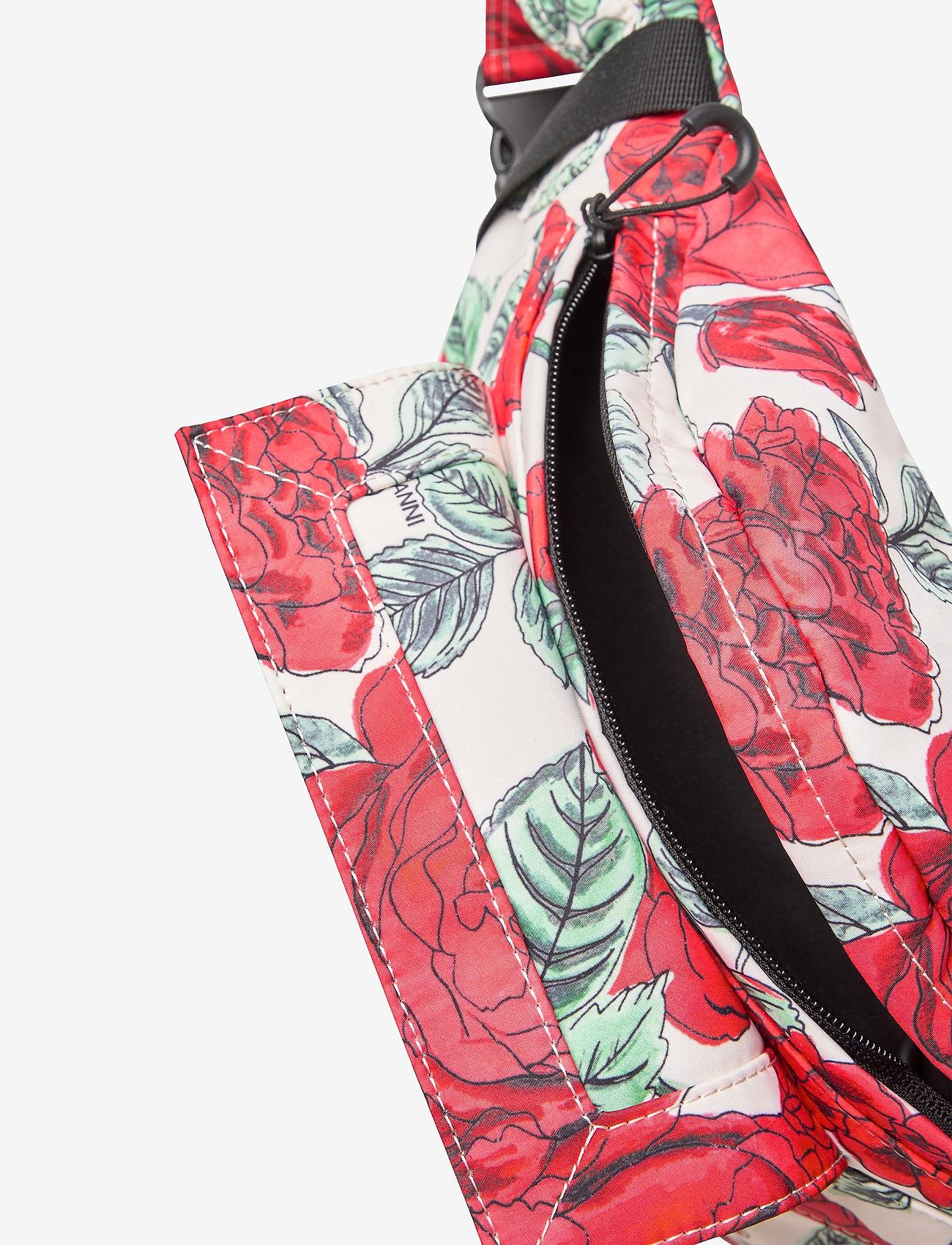Ganni - Seasonal Recycled Tech - belt bags - brazilian sand - 4