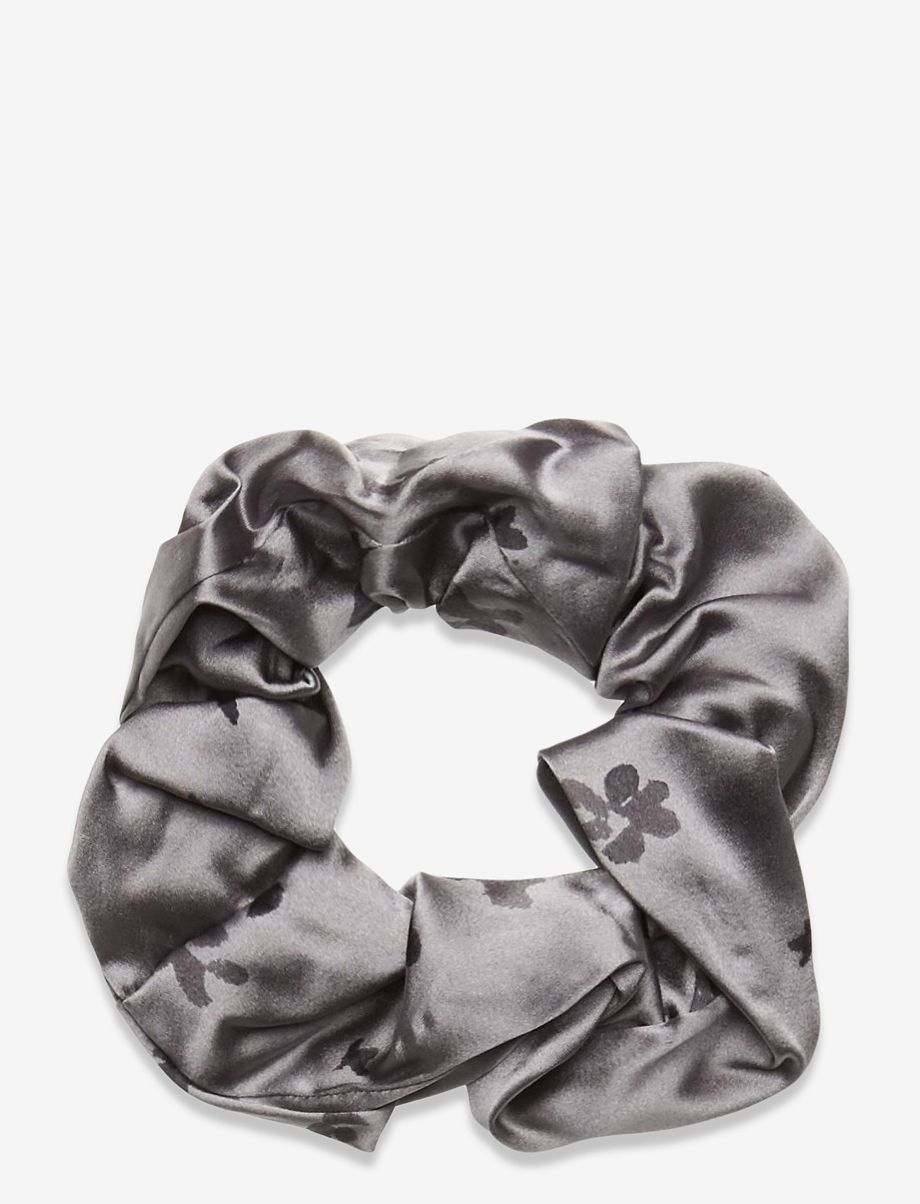 Ganni - Silk Stretch Satin - haar accessoires - sharkskin - 0