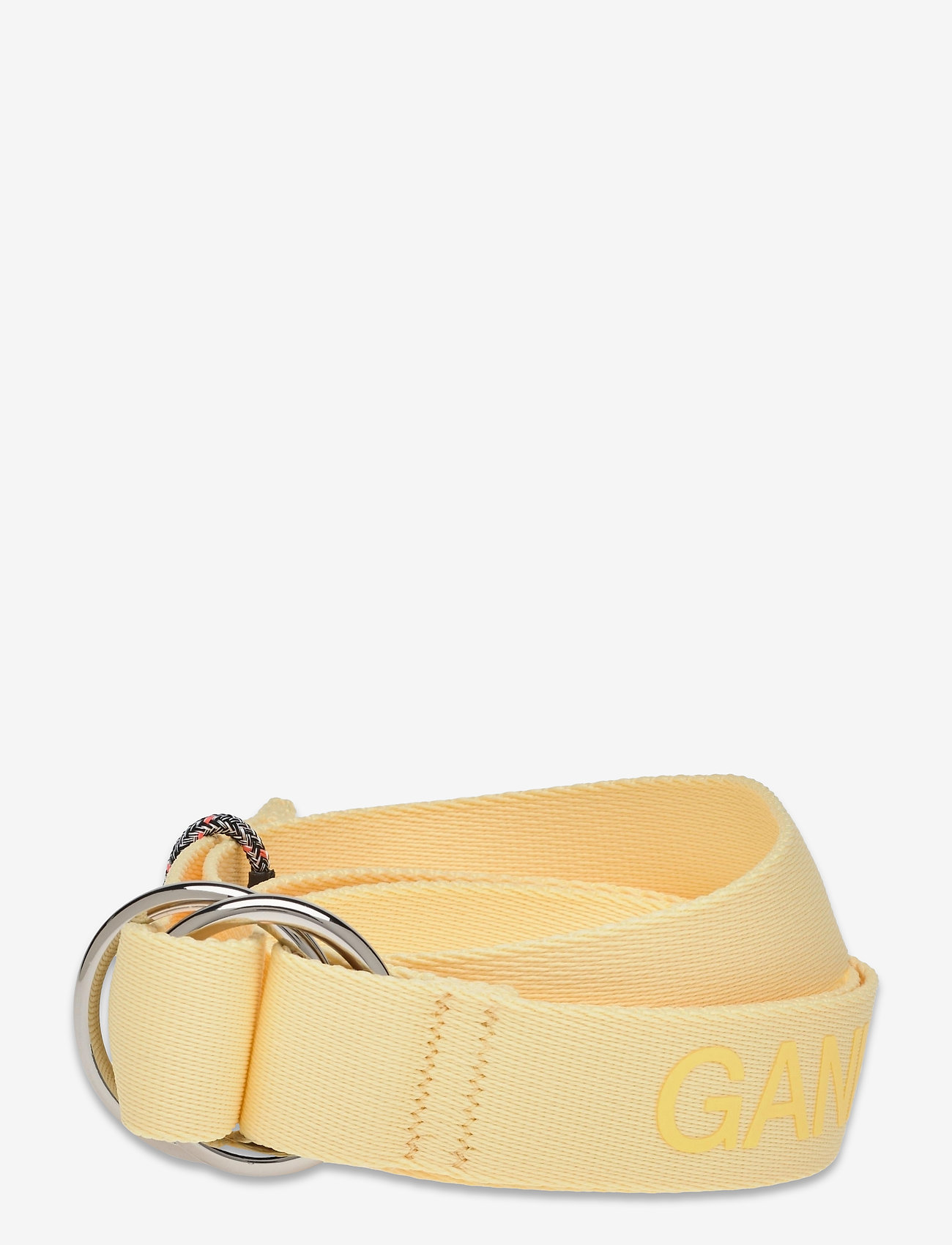 Ganni - Webbing - accessories - pale banana - 0