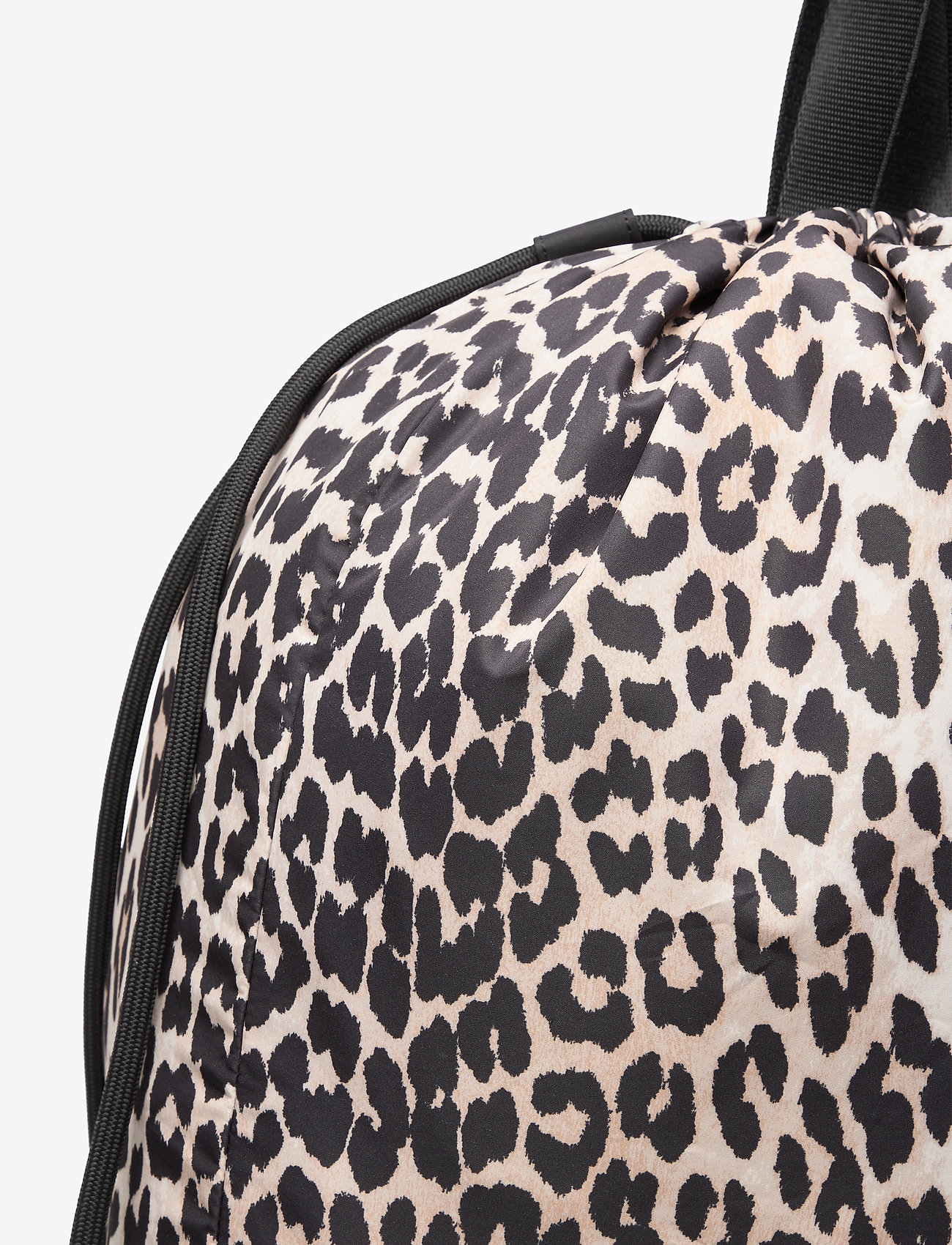 Ganni - Recycled Tech Fabric Bags - bags - leopard - 1