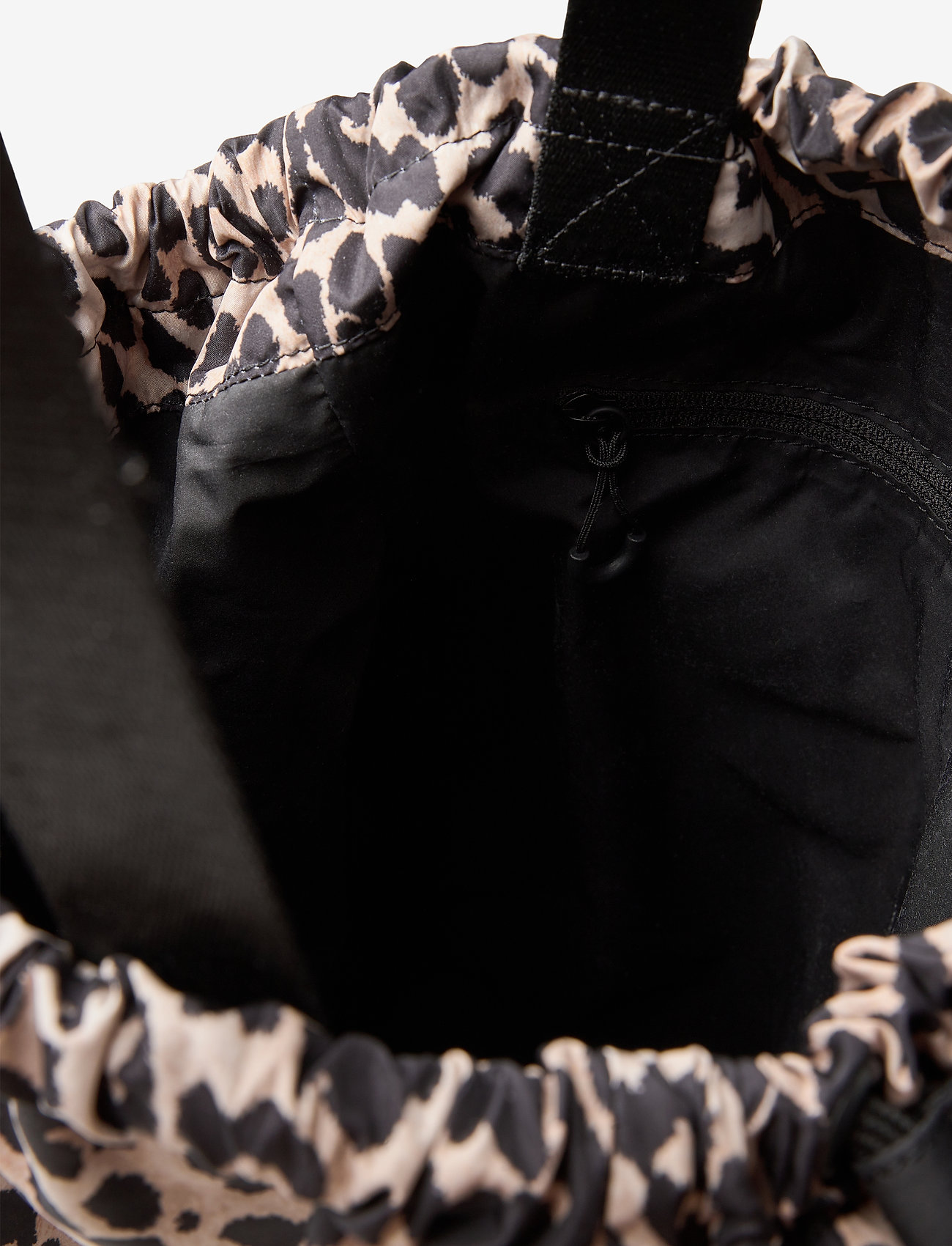 Ganni - Recycled Tech Fabric Bags - bags - leopard - 2