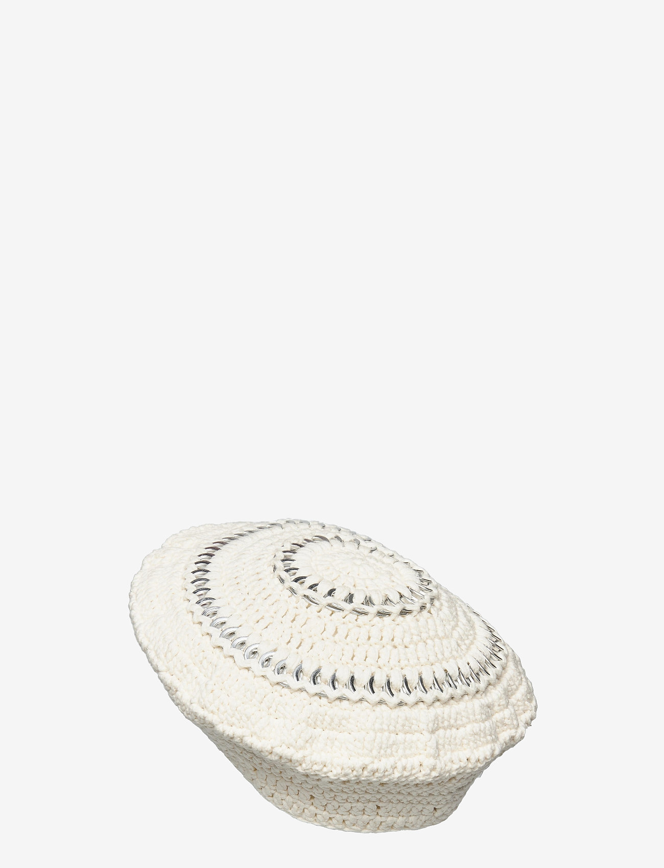 Ganni - Cotton Knit - hatte - egret - 1