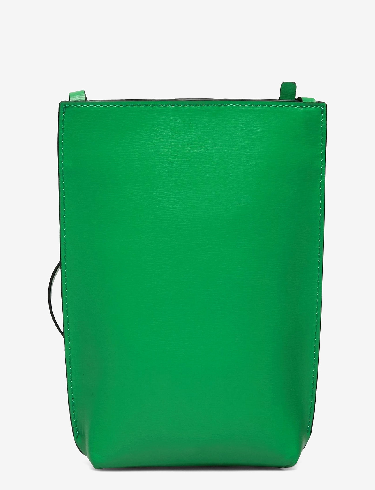 Ganni - Recycled Leather - tasker - kelly green - 1
