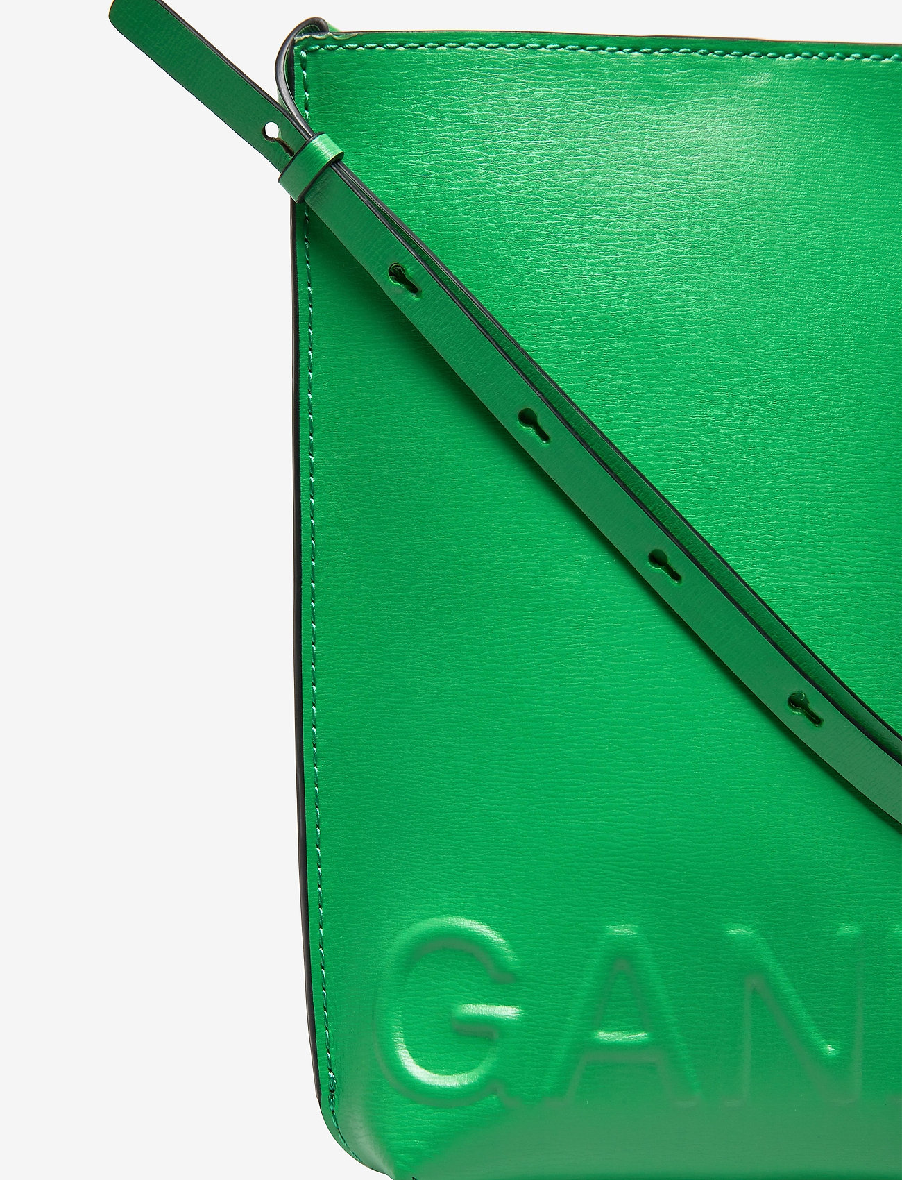 Ganni - Recycled Leather - tasker - kelly green - 3