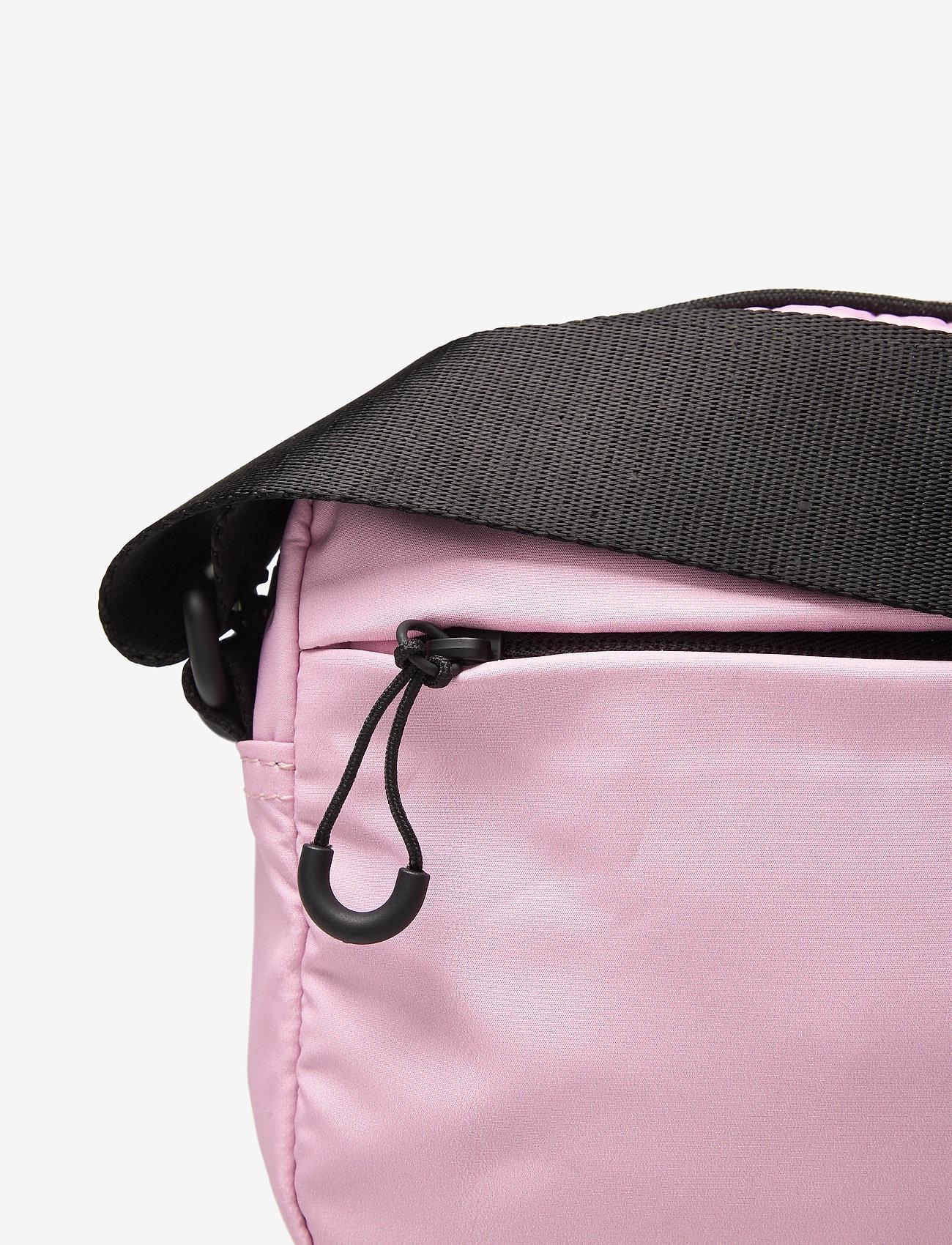 Ganni - Seasonal Recycled Tech Fabric - crossbody bags - pink nectar - 3