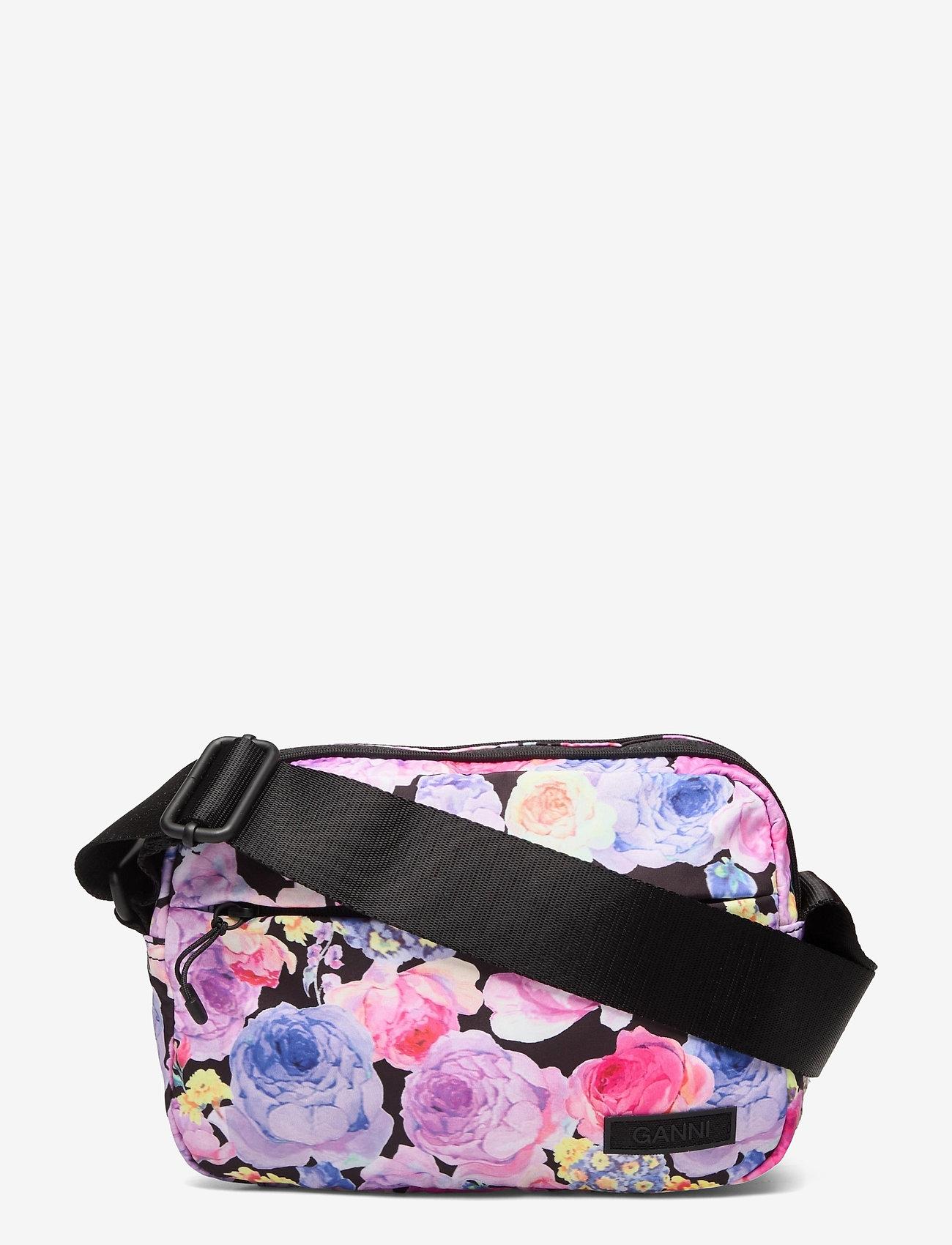 Ganni - Seasonal Recycled Tech Fabric - crossbody bags - multicolour - 0