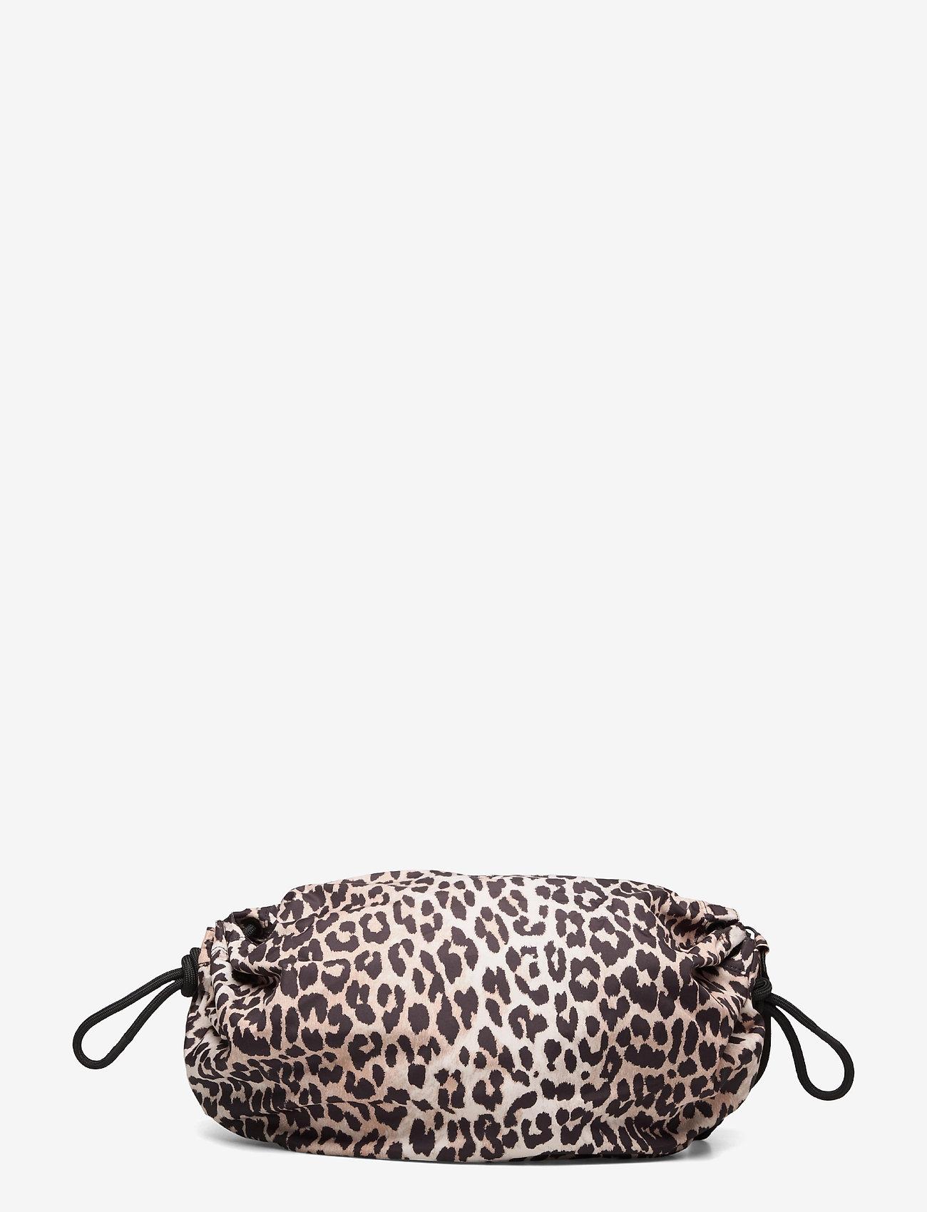 Ganni - Seasonal Recycled Tech Fabric - crossbody bags - leopard - 1