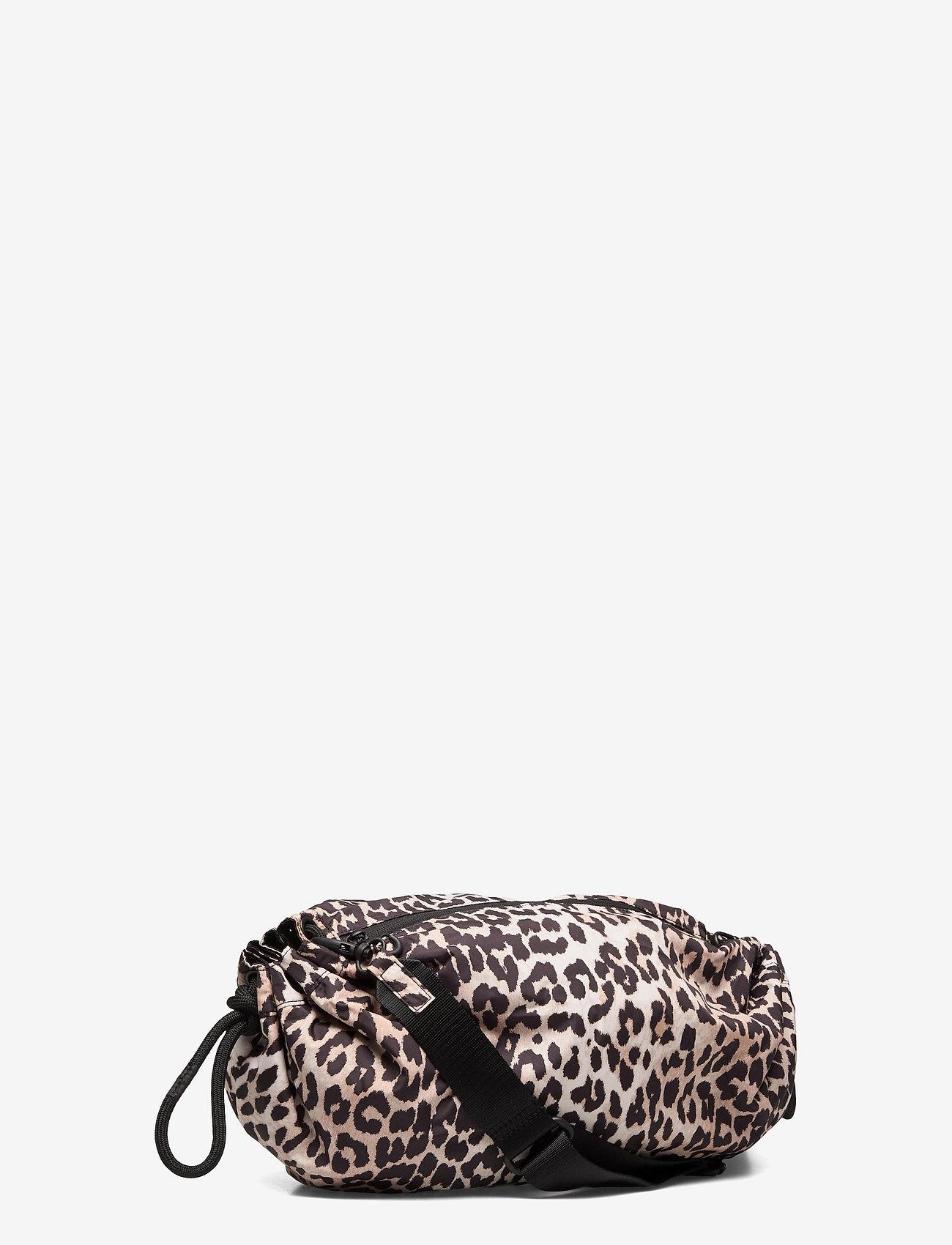 Ganni - Seasonal Recycled Tech Fabric - crossbody bags - leopard - 2