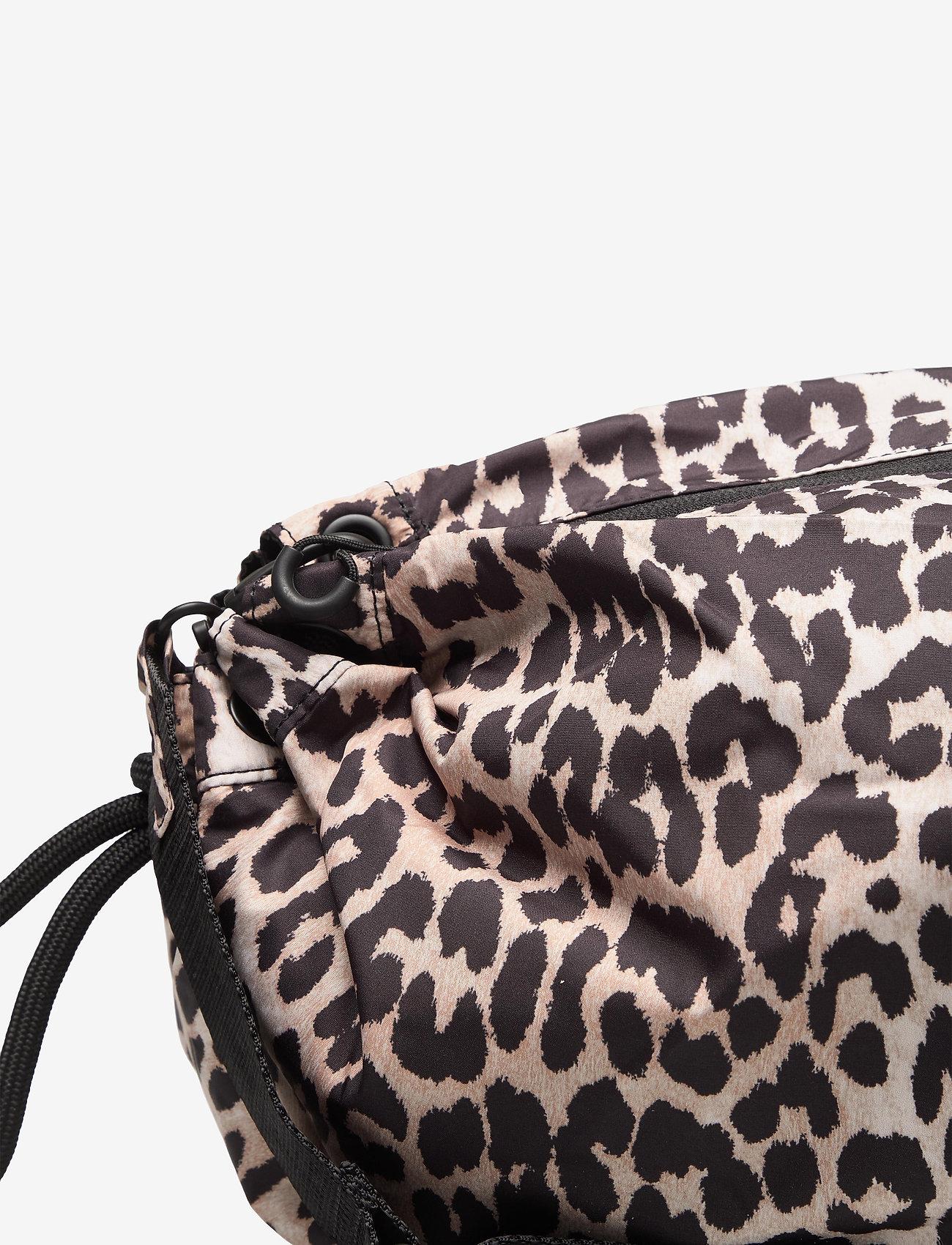 Ganni - Seasonal Recycled Tech Fabric - crossbody bags - leopard - 3