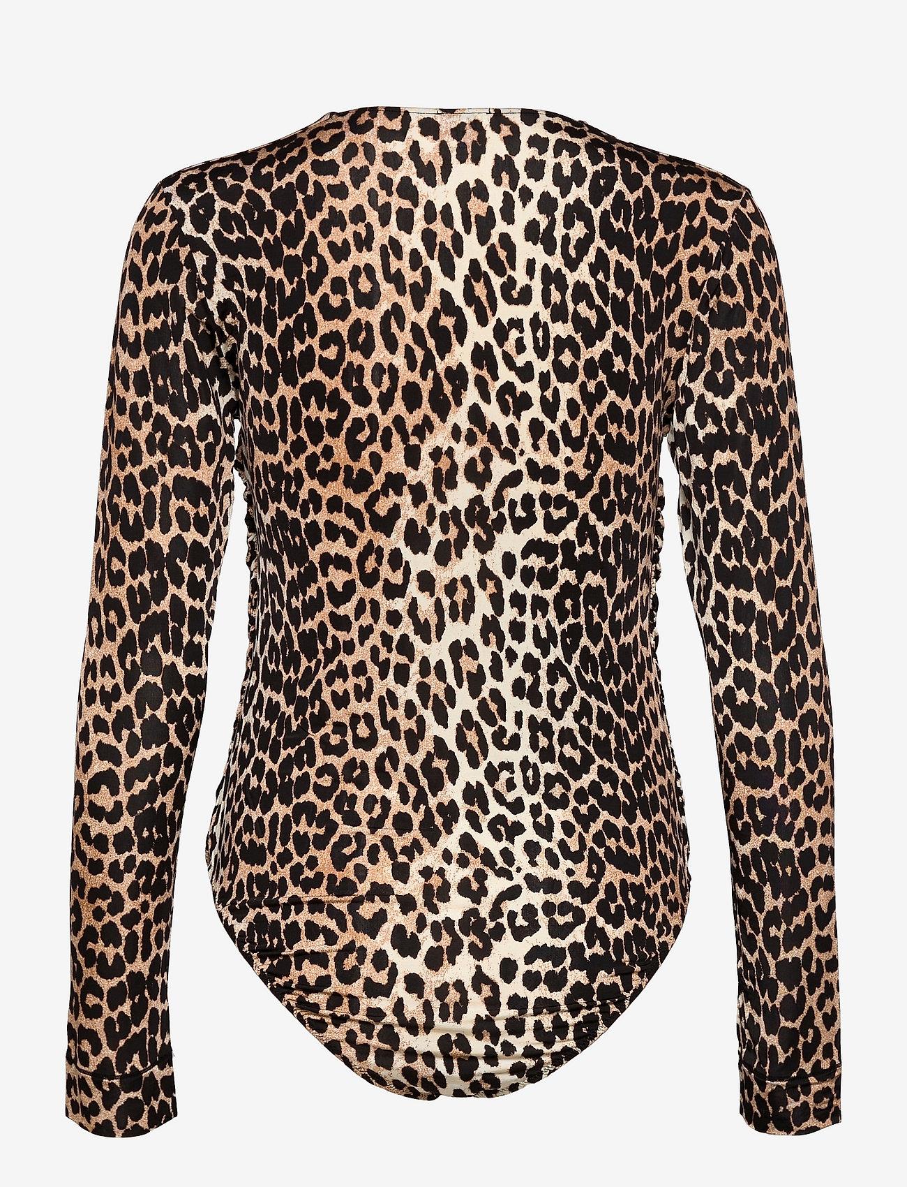 Ganni - Rayon Underwear - bodies & underkjoler - leopard - 1