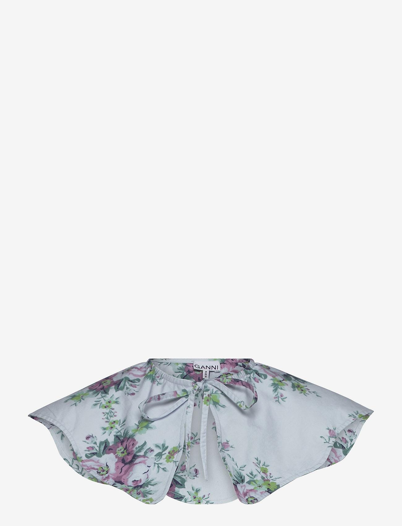 Ganni - Printed Cotton Poplin - accessories - heather - 0
