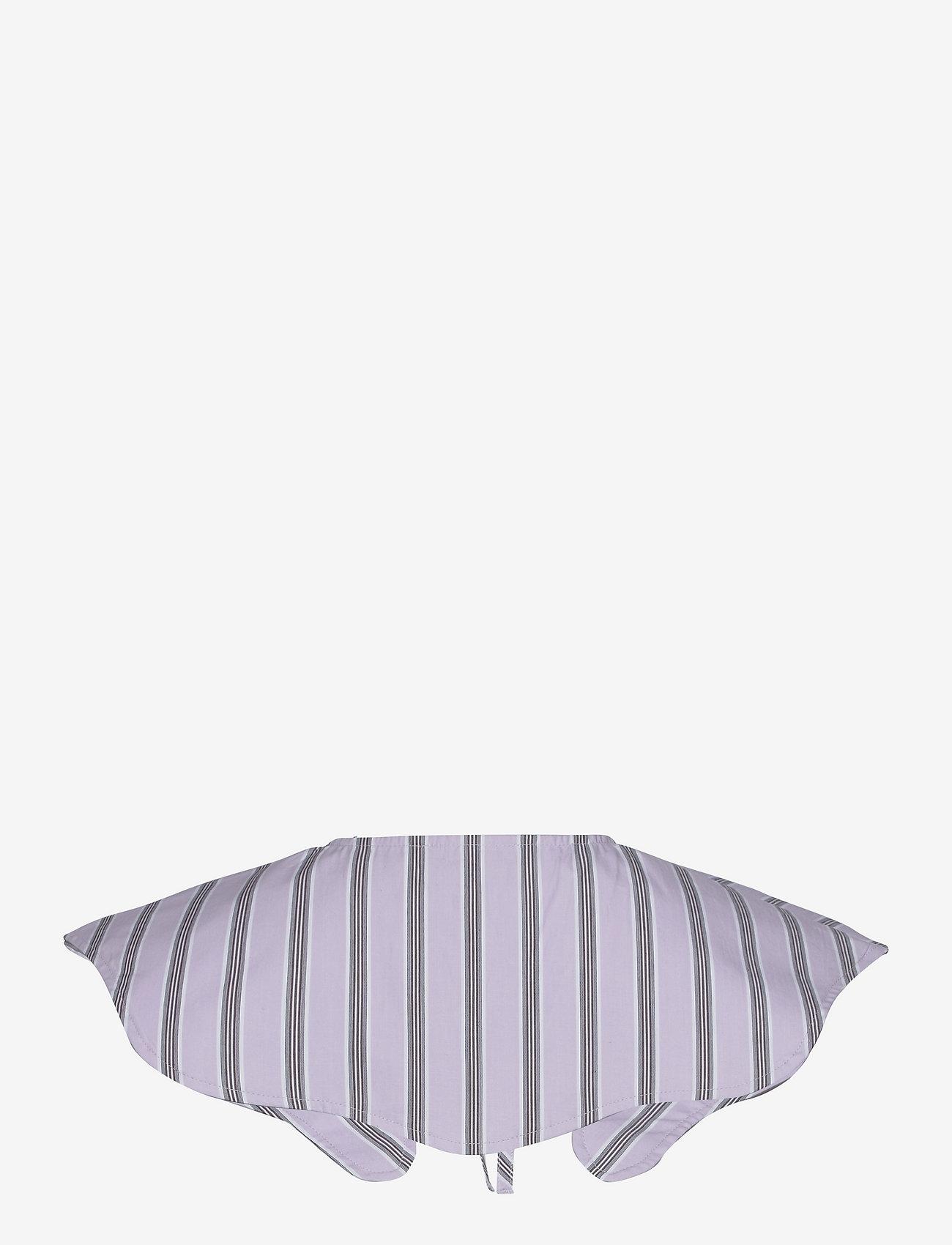 Ganni - Stripe Cotton - accessories - misty lilac - 1