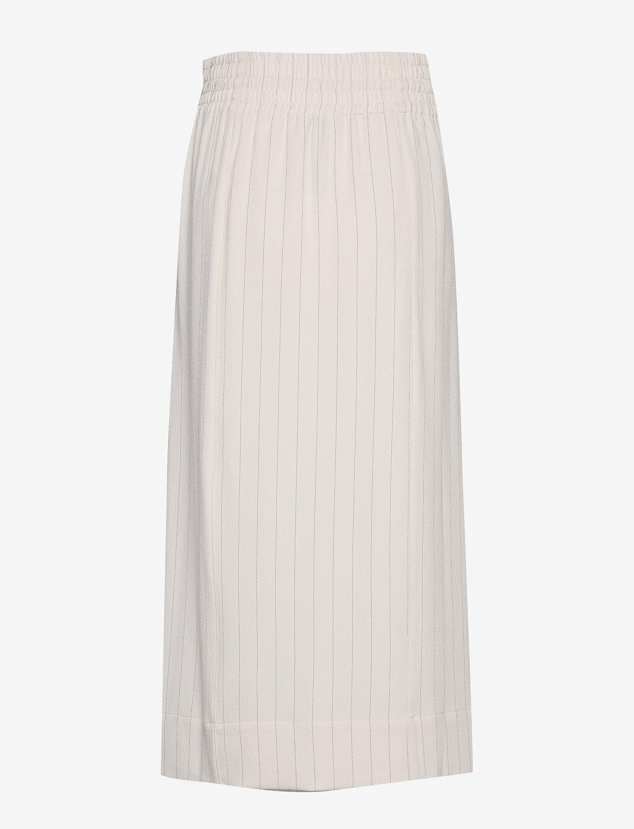 Ganni Heavy Crepe Skirt - Spódnice TAPIOCA - Kobiety Odzież.
