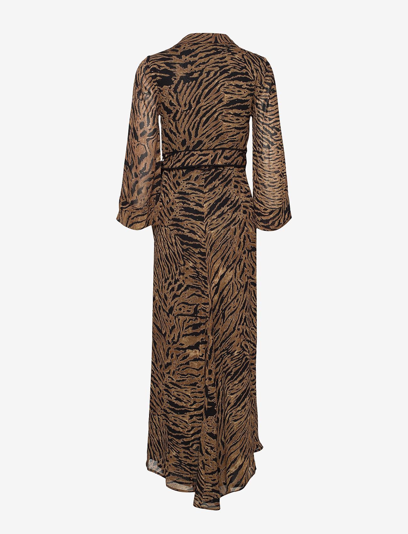 Ganni Printed Georgette - Sukienki TIGER - Kobiety Odzież.