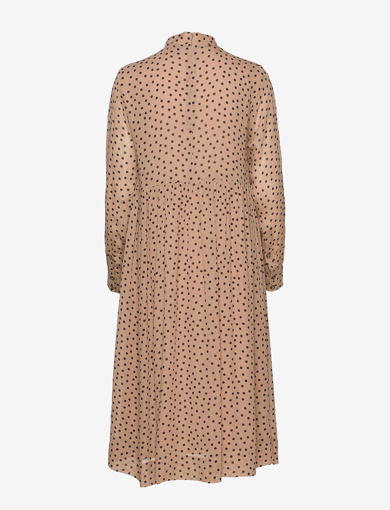 Ganni Printed Georgette - Sukienki TANNIN - Kobiety Odzież.