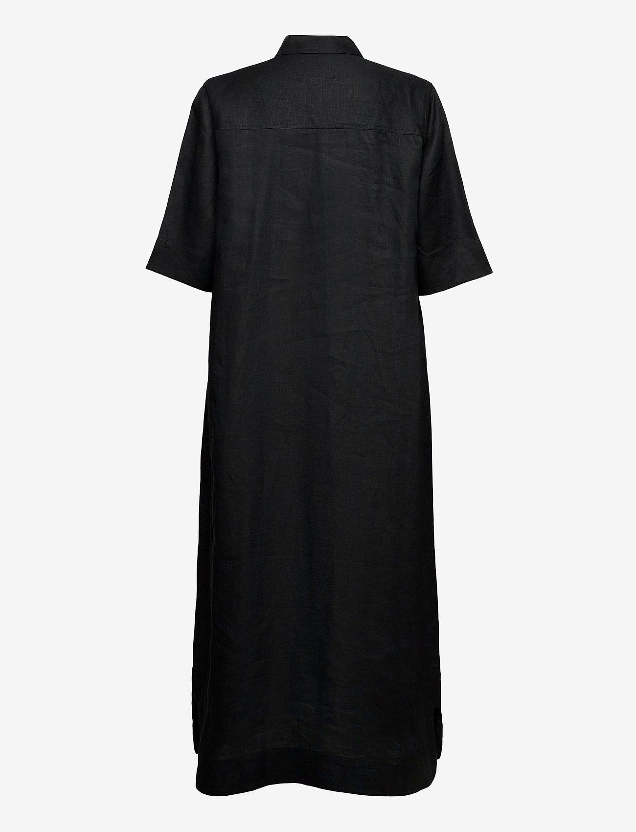 Ganni - Light Linen - skjortekjoler - phantom - 1