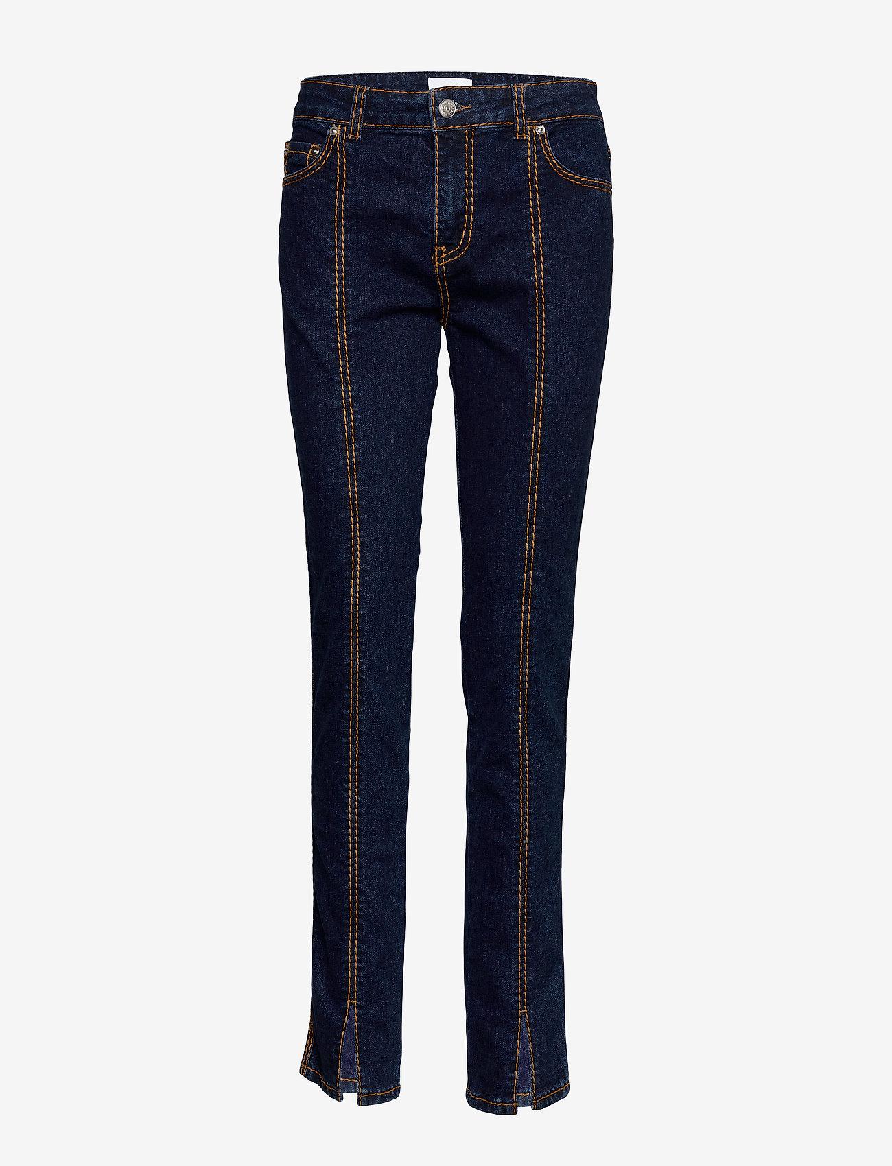 Ganni - Light Stretch Denim - slim jeans - dark indigo - 0