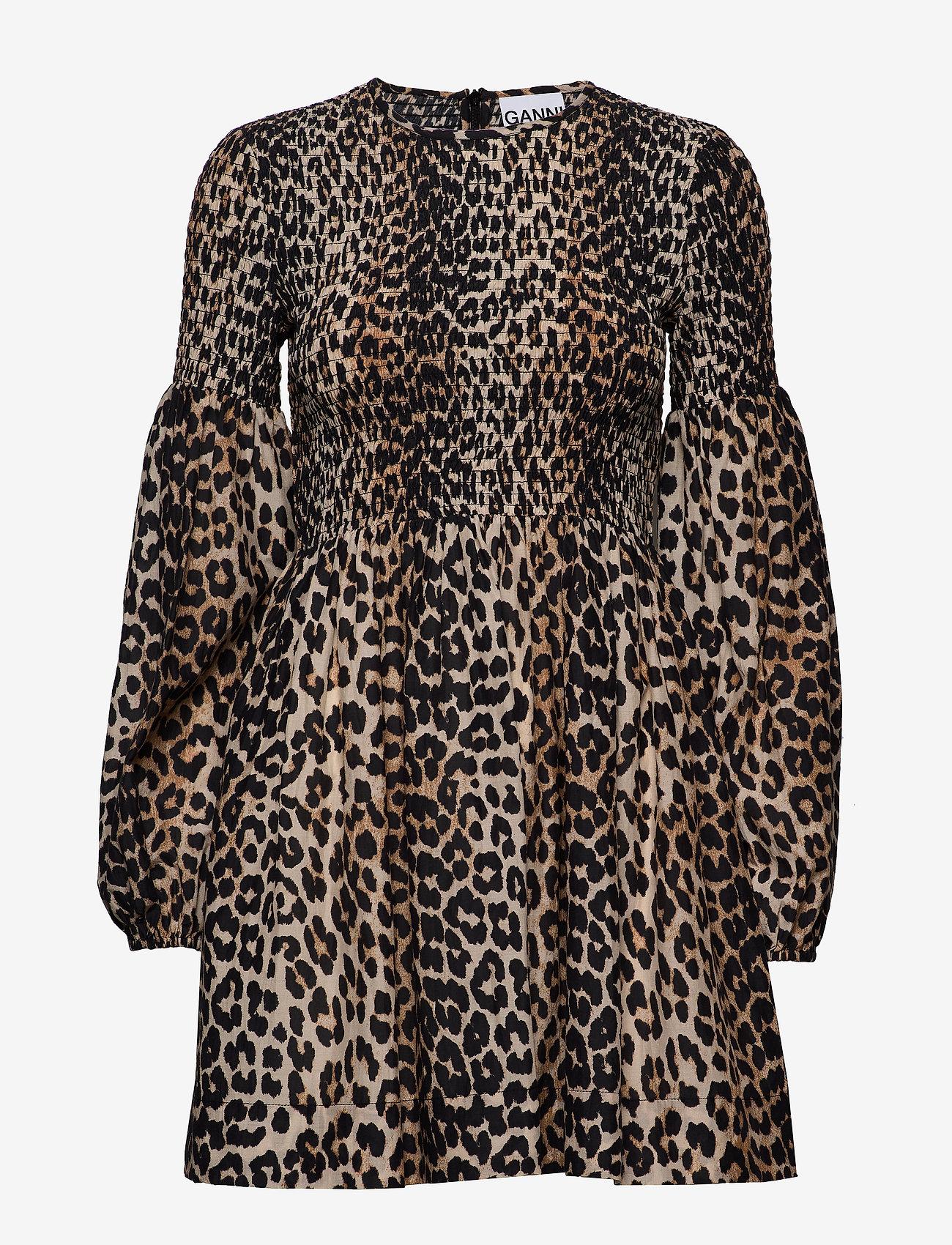 Ganni - Cotton Silk - leopard - 0