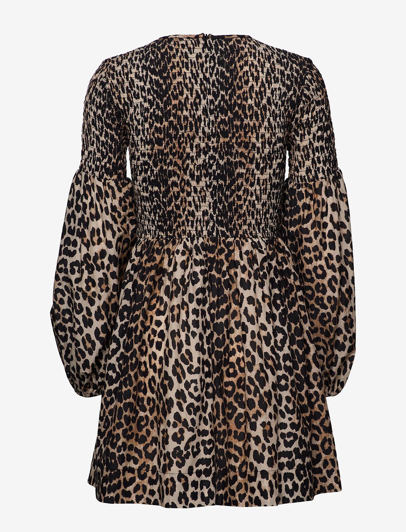 Ganni - Cotton Silk - leopard - 1