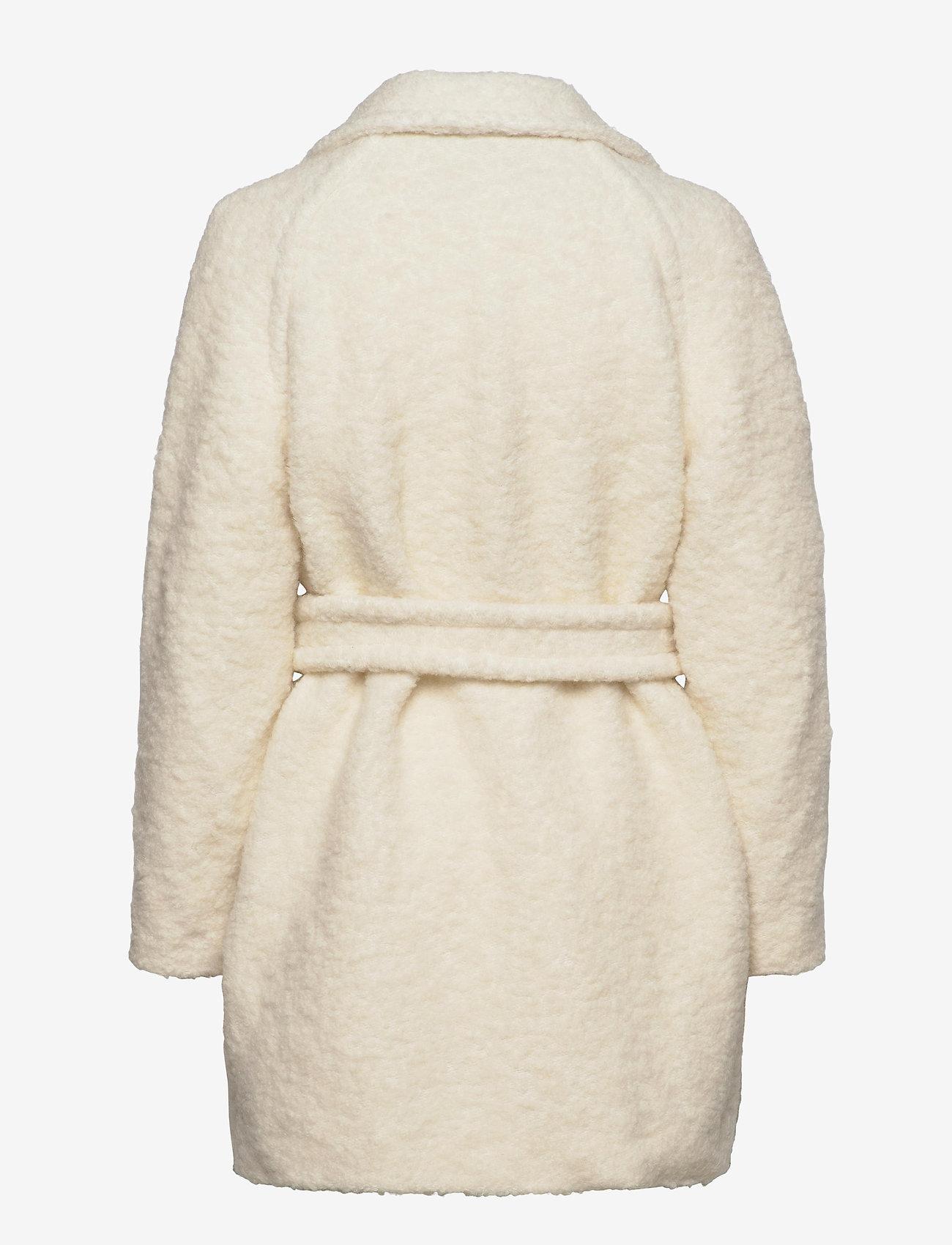 Ganni - Boucle Wool - wool jackets - egret - 1