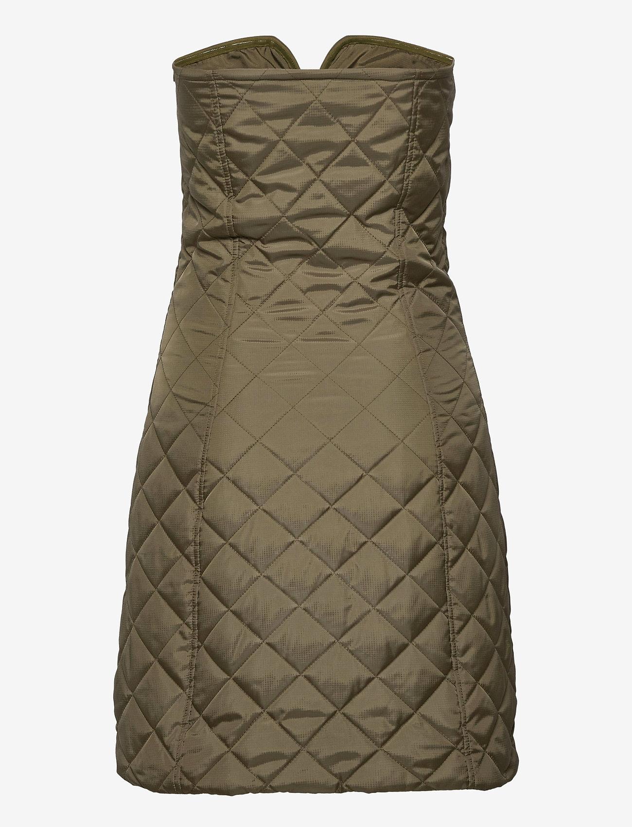 Ganni - Recycled Ripstop Quilt - bodycon dresses - kalamata - 1