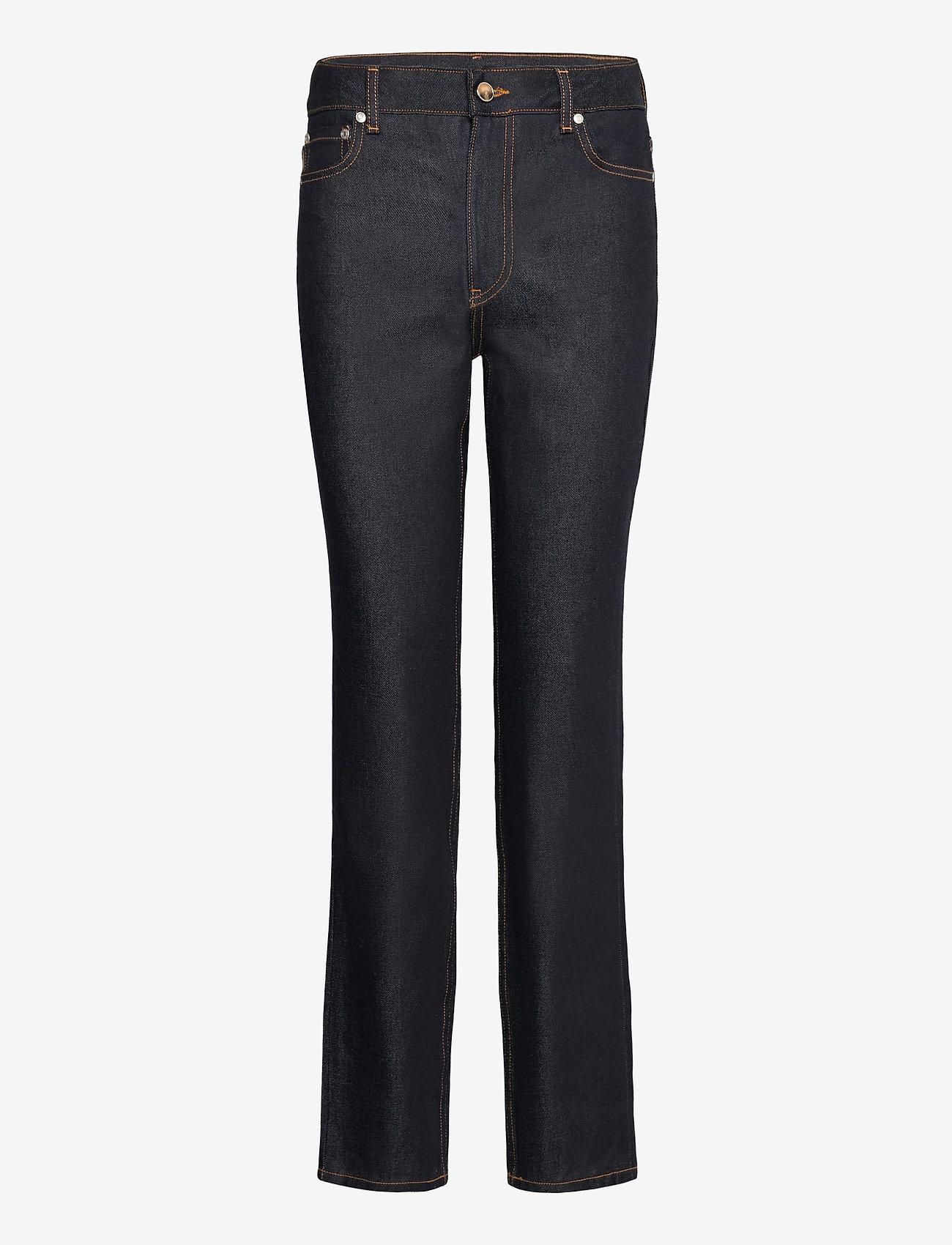 Ganni - Raw Denim - slim jeans - indigo - 0
