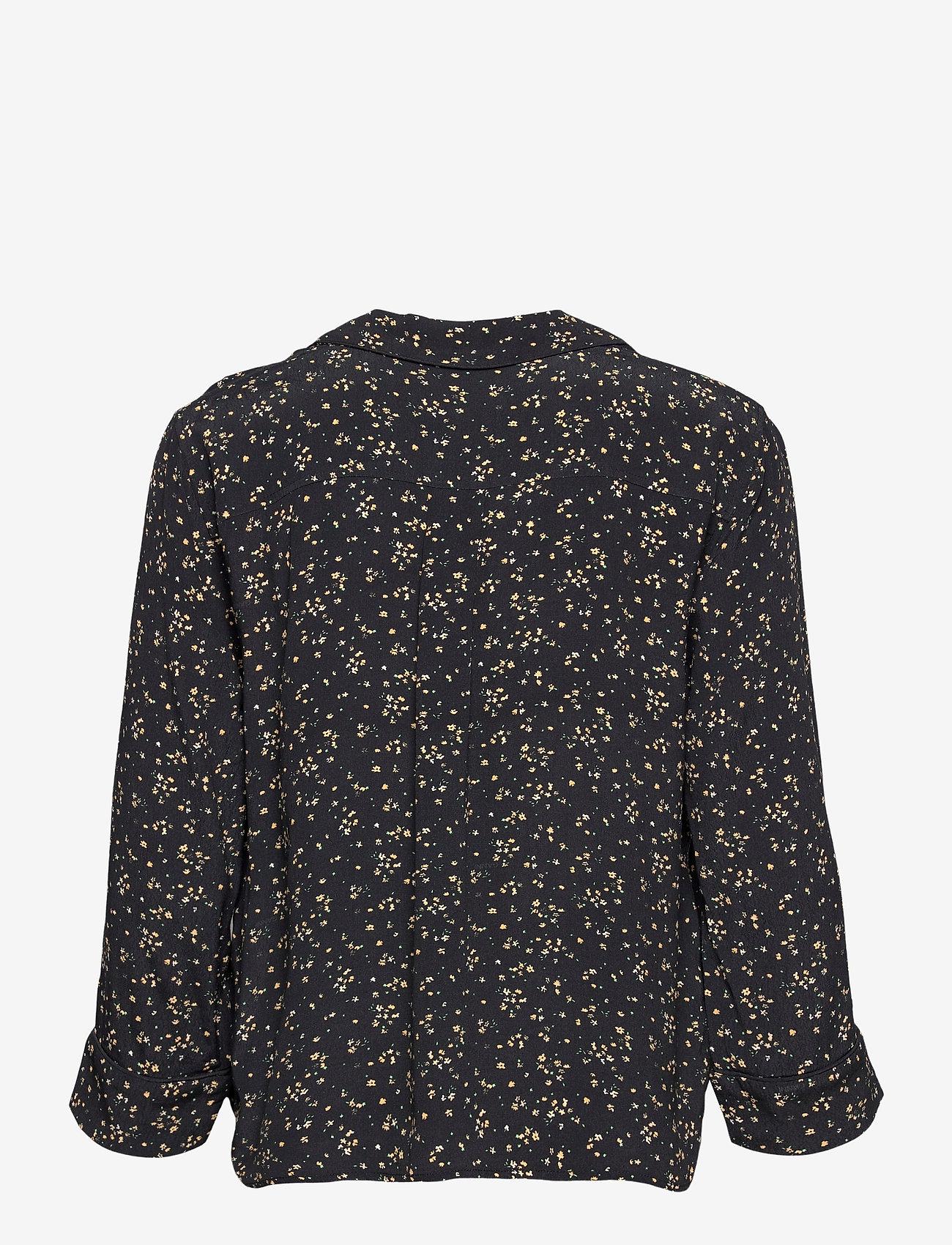 Ganni - Shirt - langærmede skjorter - black - 1