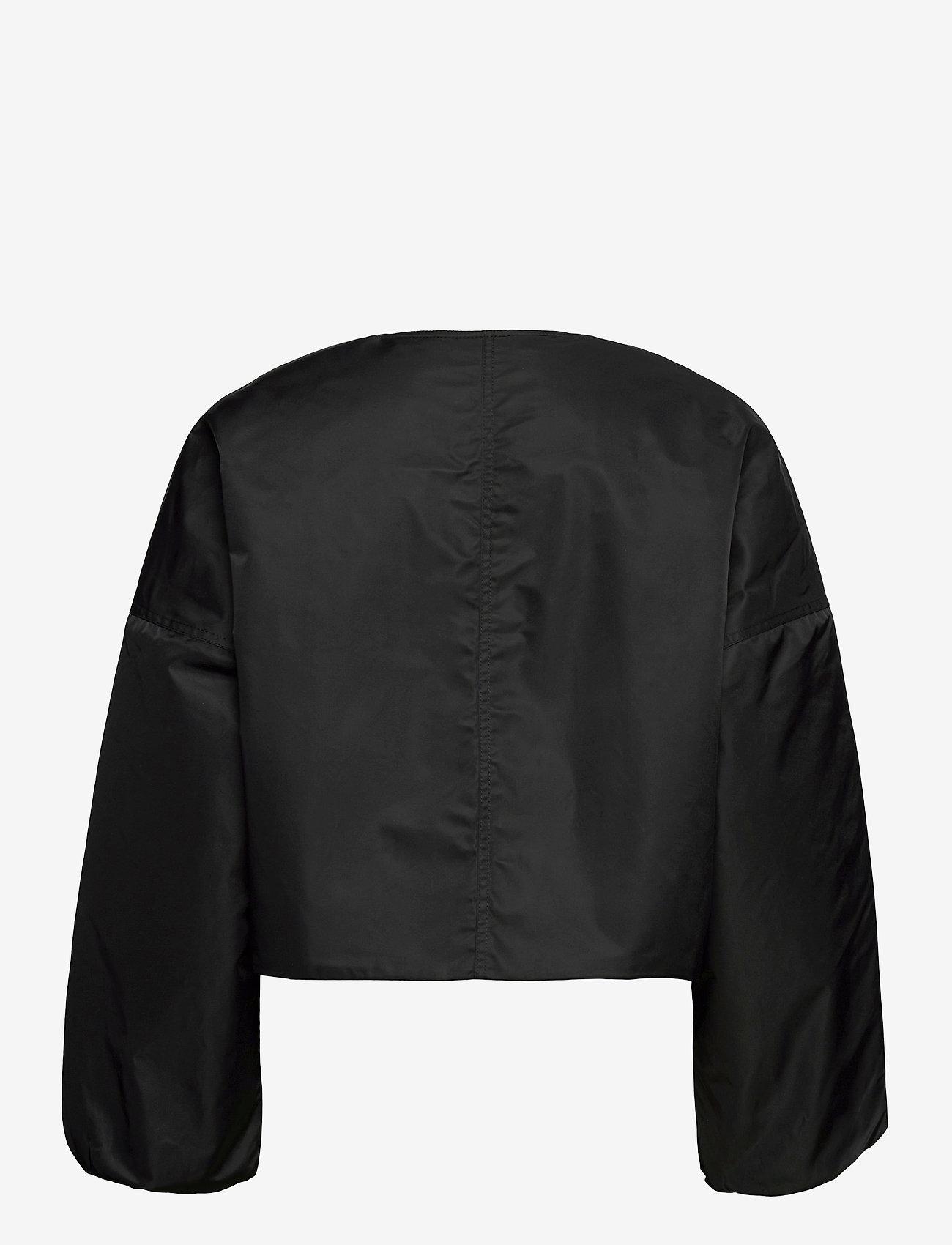 Ganni - Outerwear Nylon - bomber jakker - black - 2