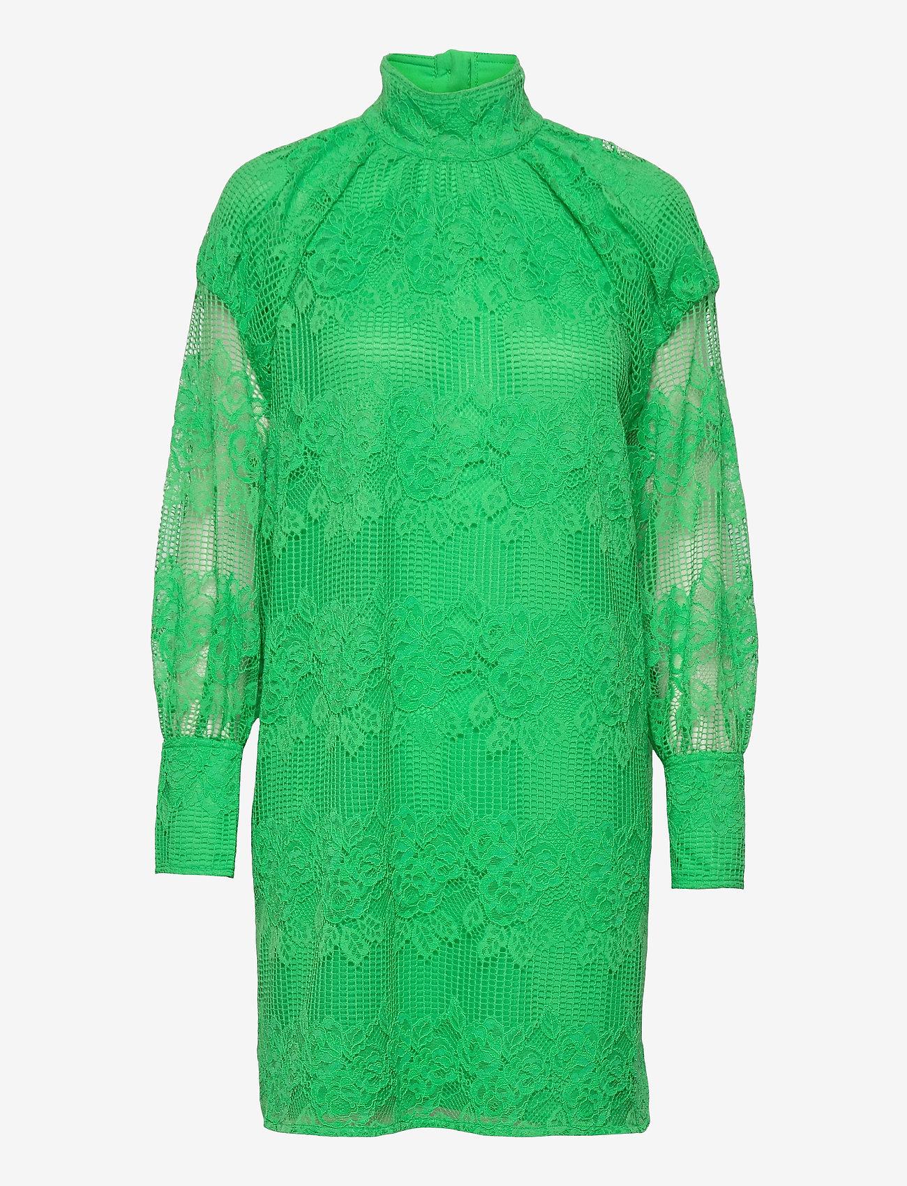 Ganni - Lace - sommerkjoler - kelly green - 0