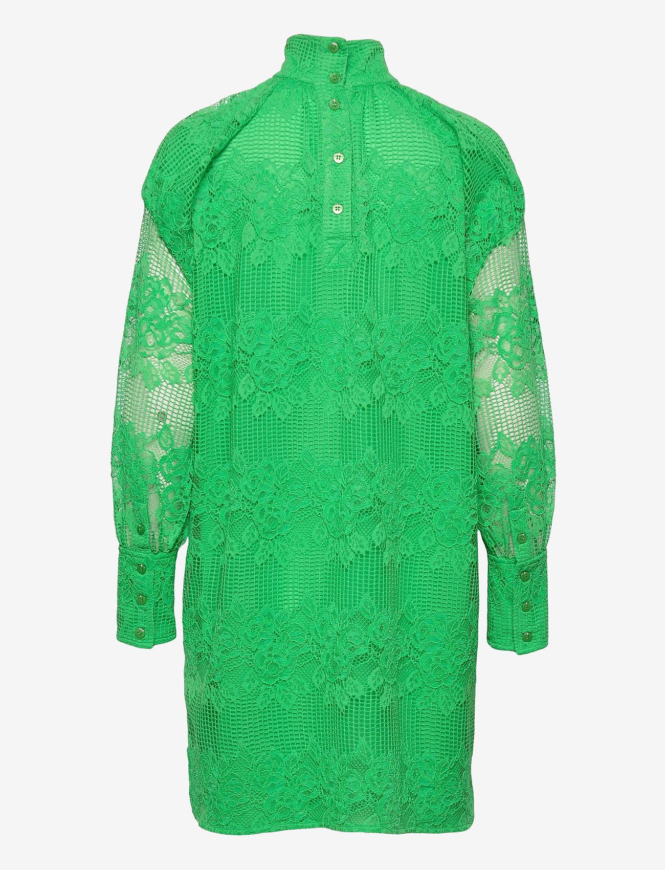 Ganni - Lace - sommerkjoler - kelly green - 1