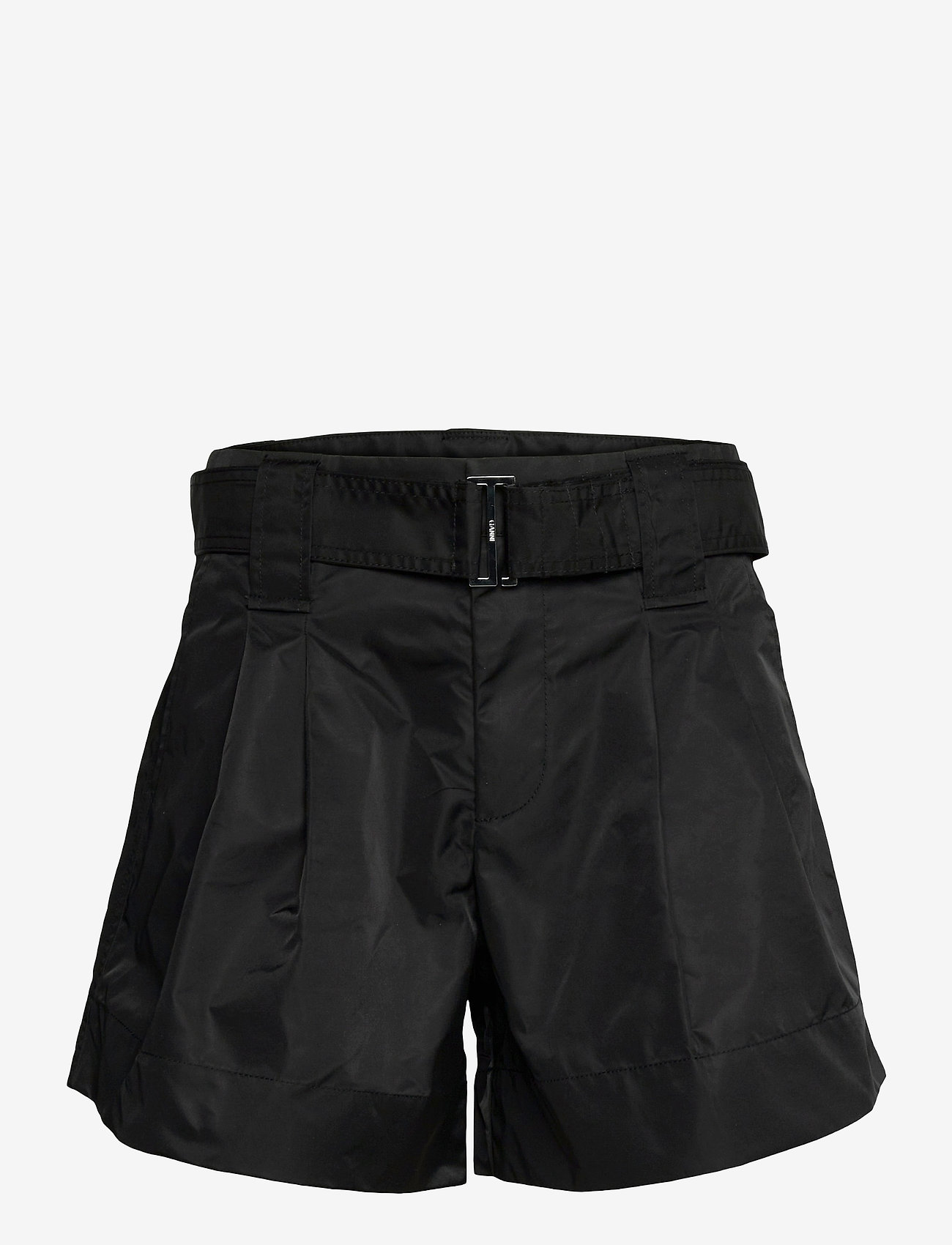 Ganni - Outerwear Nylon - paper bag shorts - black - 0