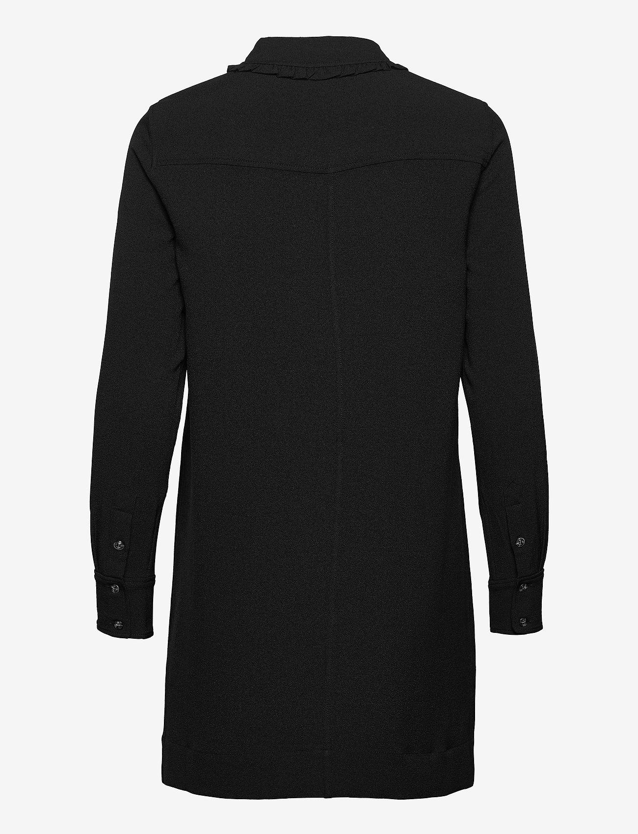 Ganni - Mini Dress - hverdagskjoler - black - 1