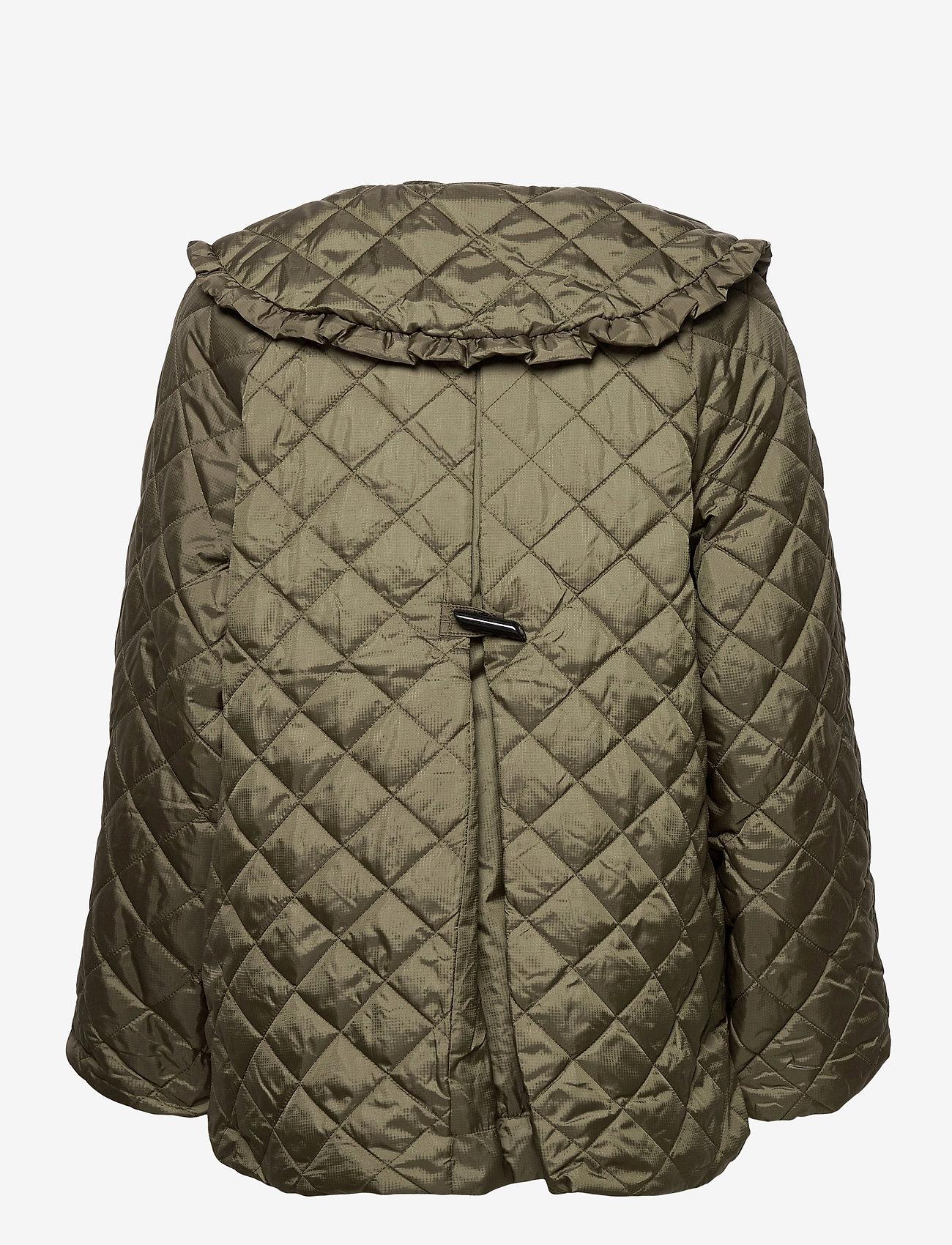 Ganni - Coat - quiltede jakker - kalamata - 1