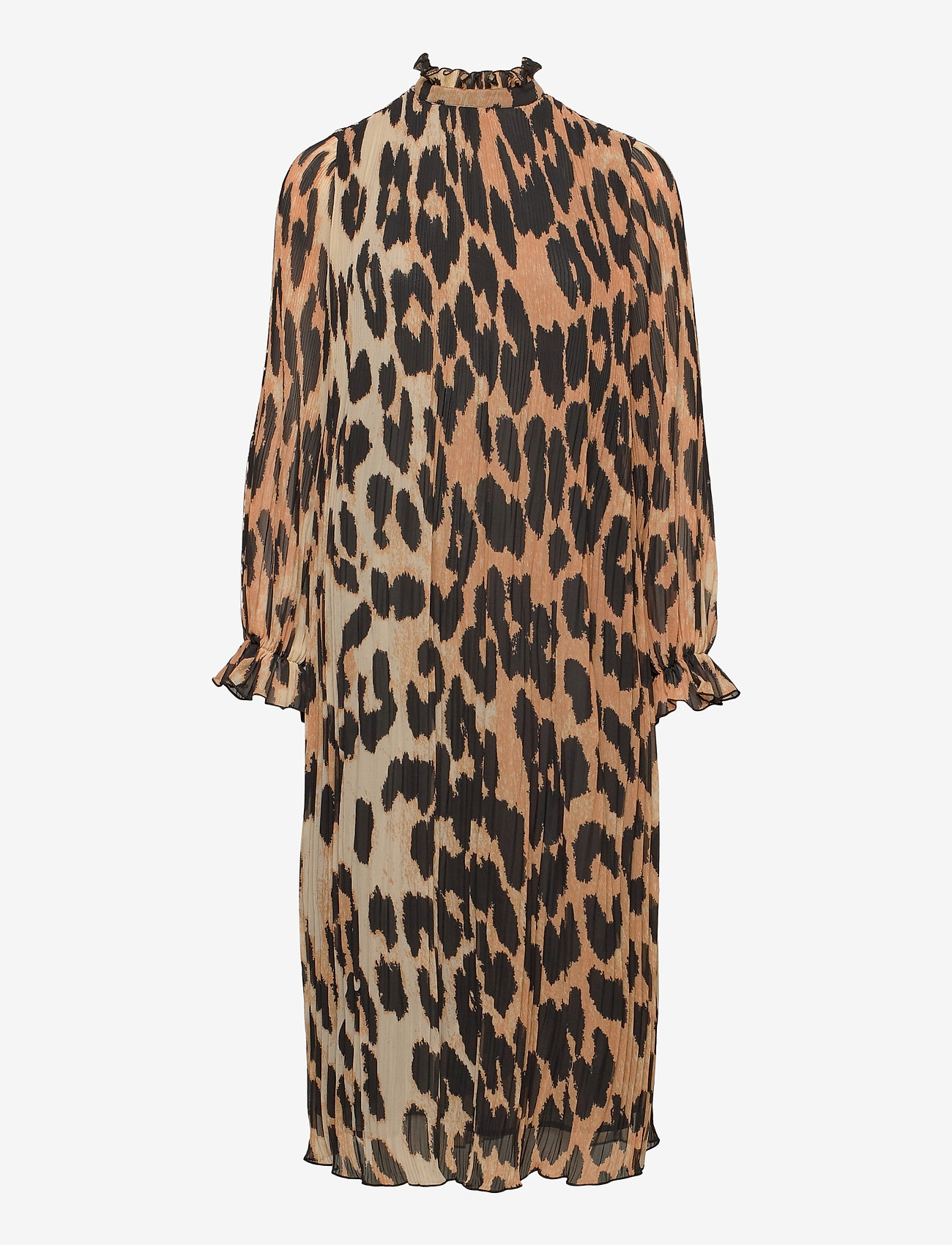 Ganni - Dress - cocktail dresses - maxi leopard - 1