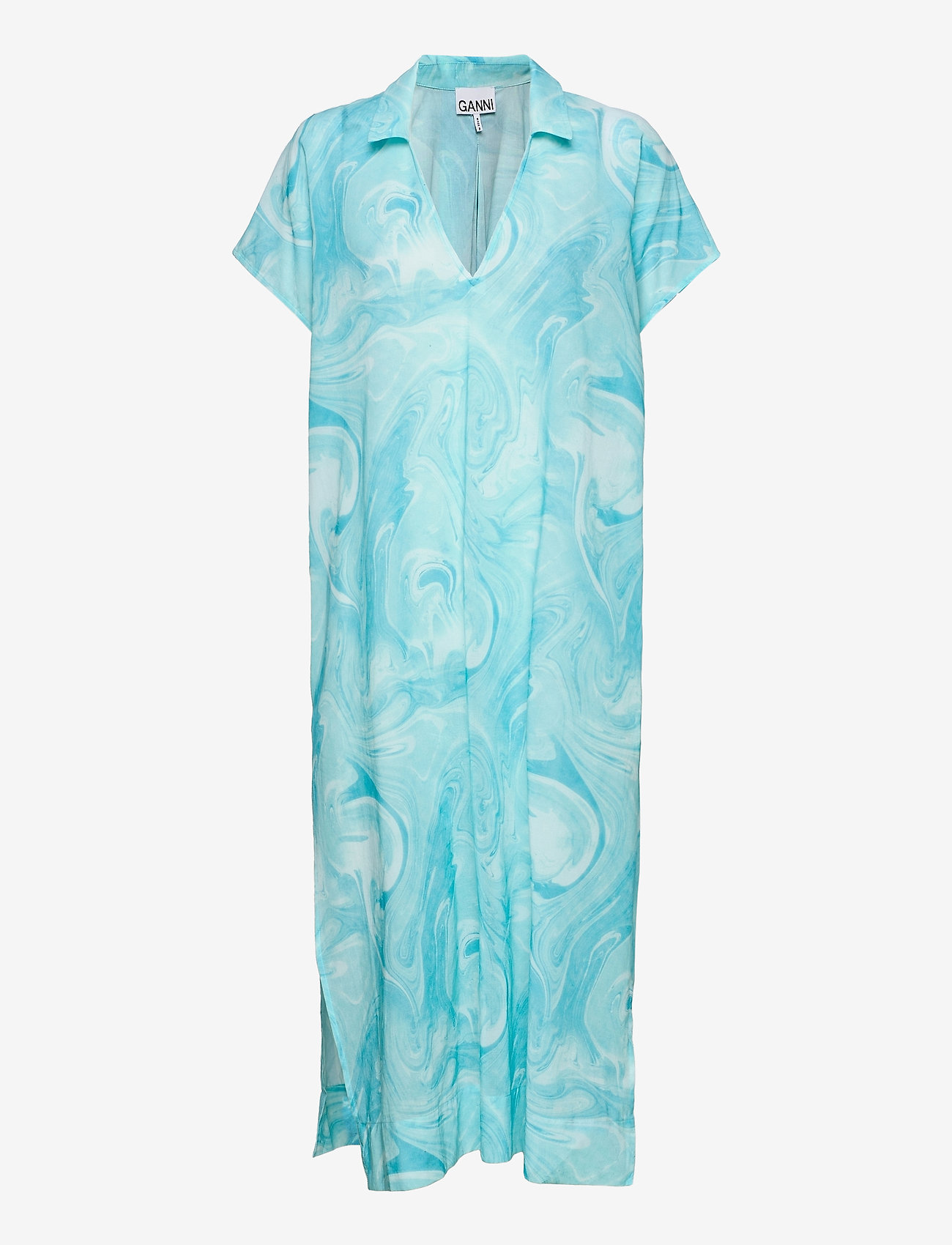 Ganni - Light Cotton - strandtøj - bachelor blue - 0
