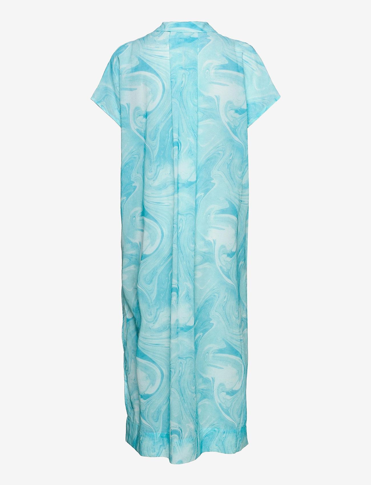 Ganni - Light Cotton - strandtøj - bachelor blue - 1