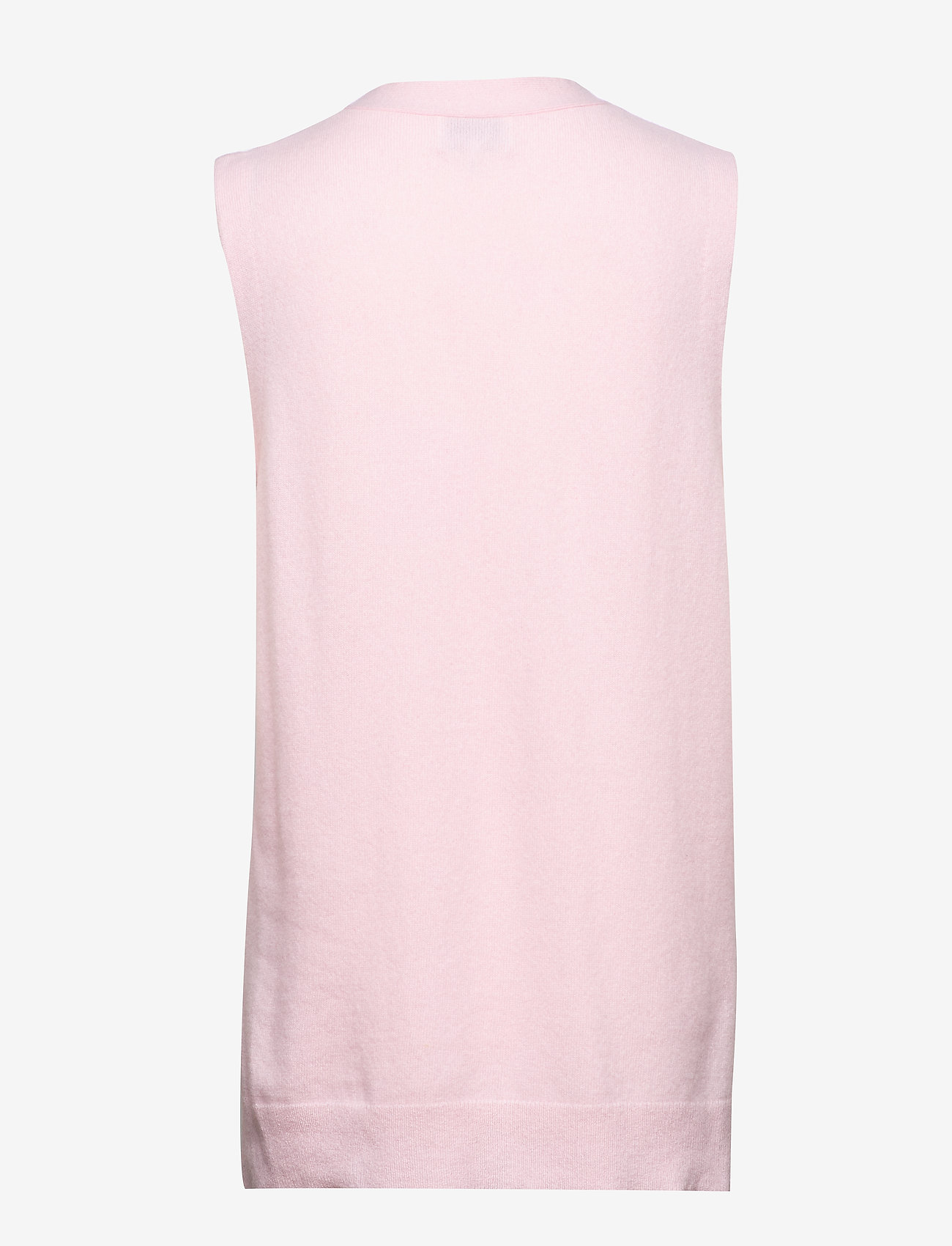 Ganni - Cashmere Knit - knitted vests - cherry blossom - 1