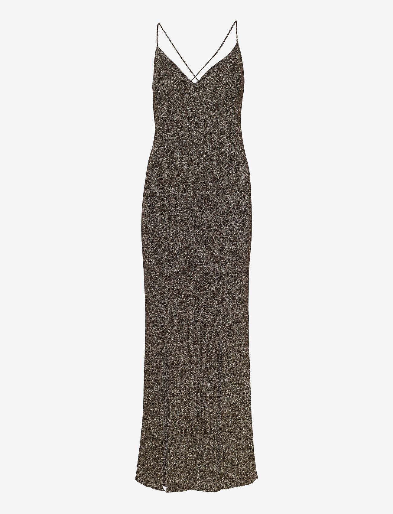 Ganni - Glitter Knit - evening dresses - mole - 1