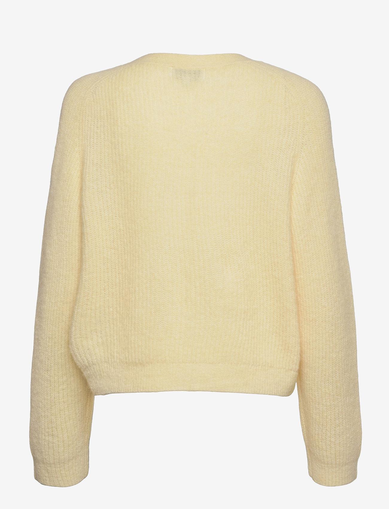Ganni - Soft Wool Knit - cardigans - flan - 1