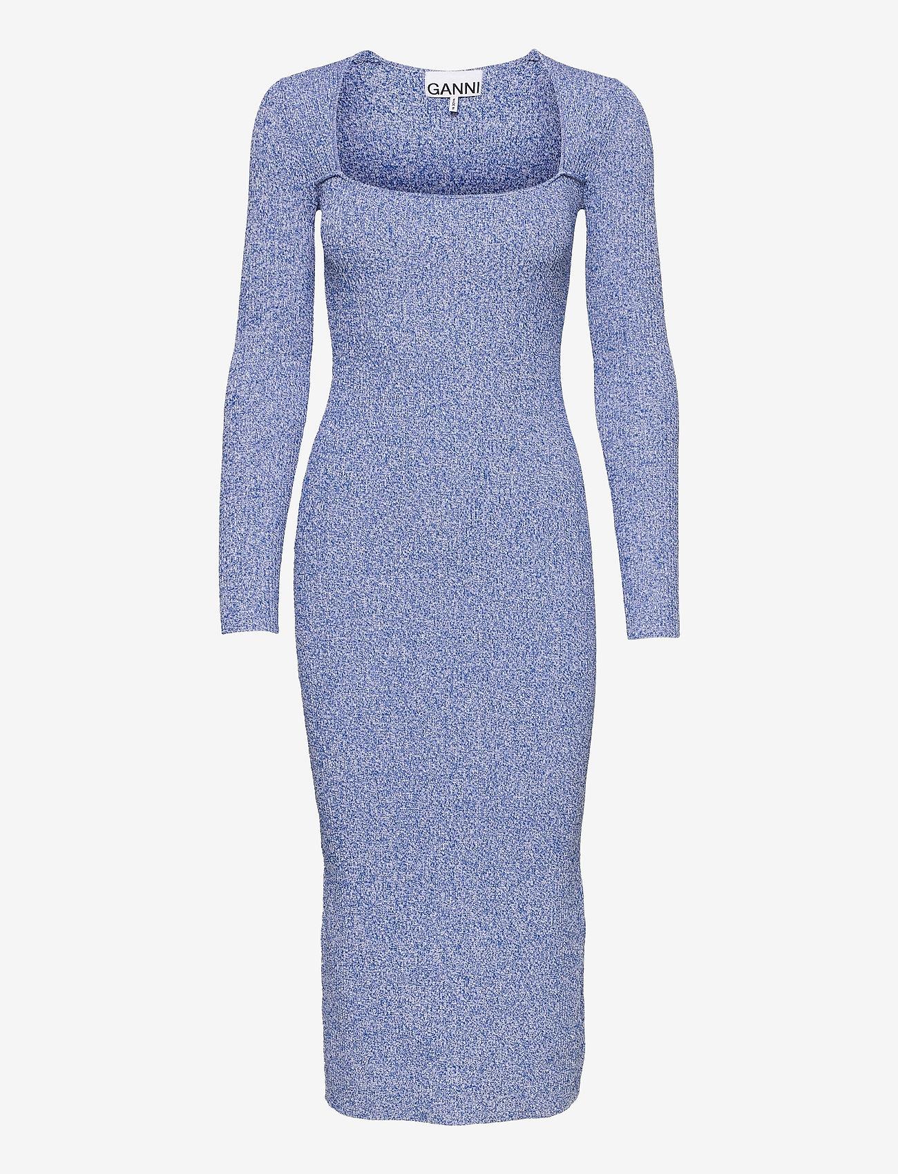 Ganni - Melange Knit - summer dresses - daphne - 0