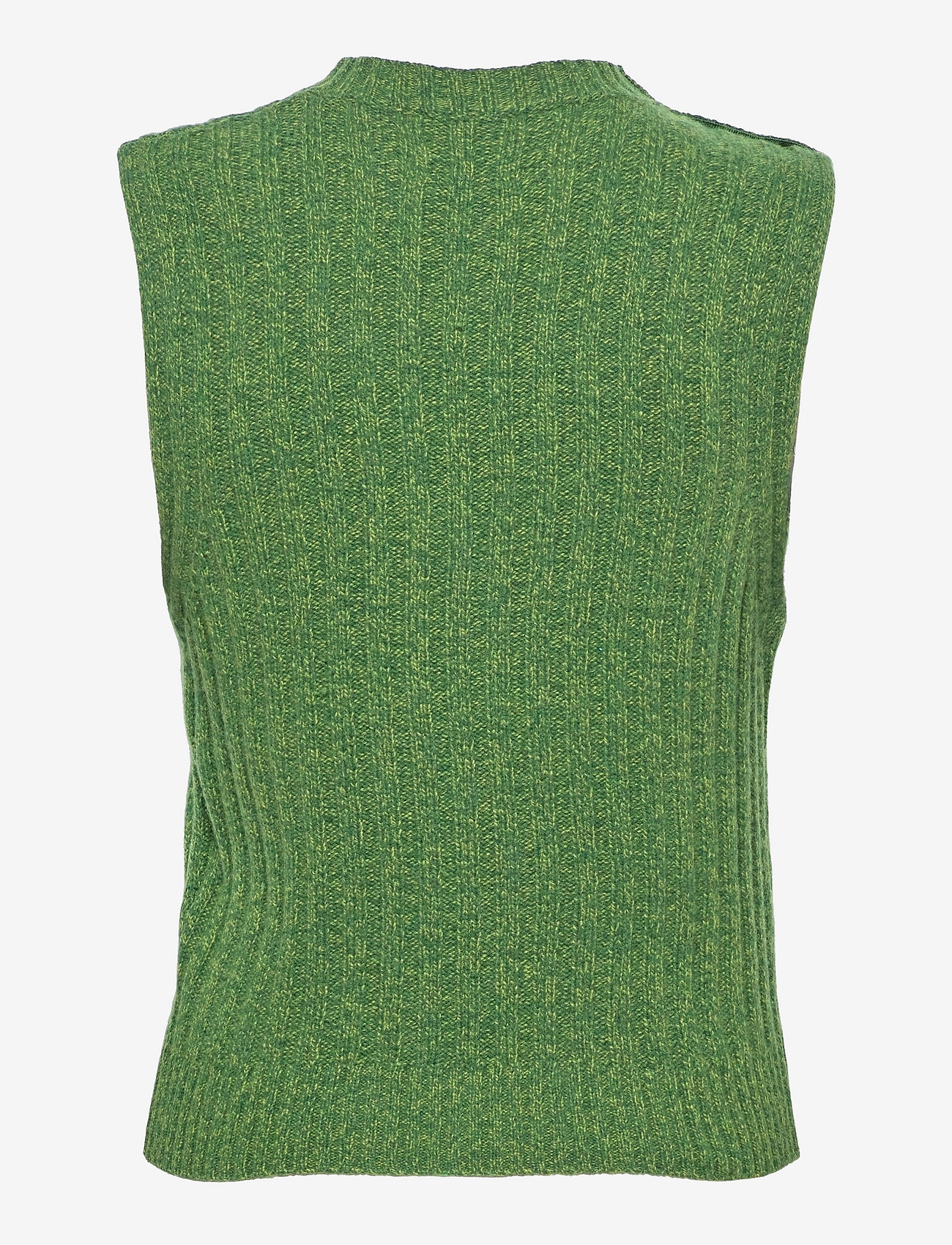 Ganni - Wool Mix - knitted vests - kelly green - 1