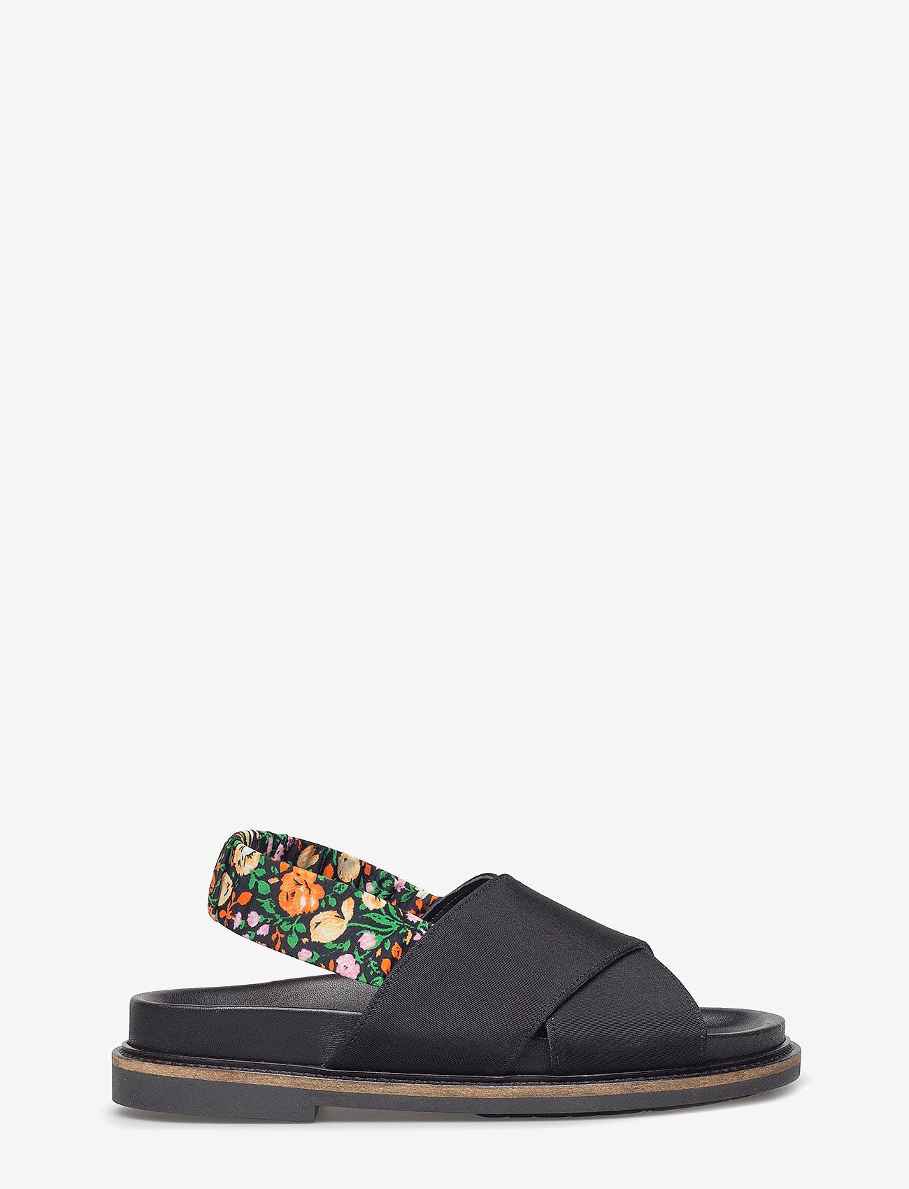 Ganni - Mona - płaskie sandały - black - 1